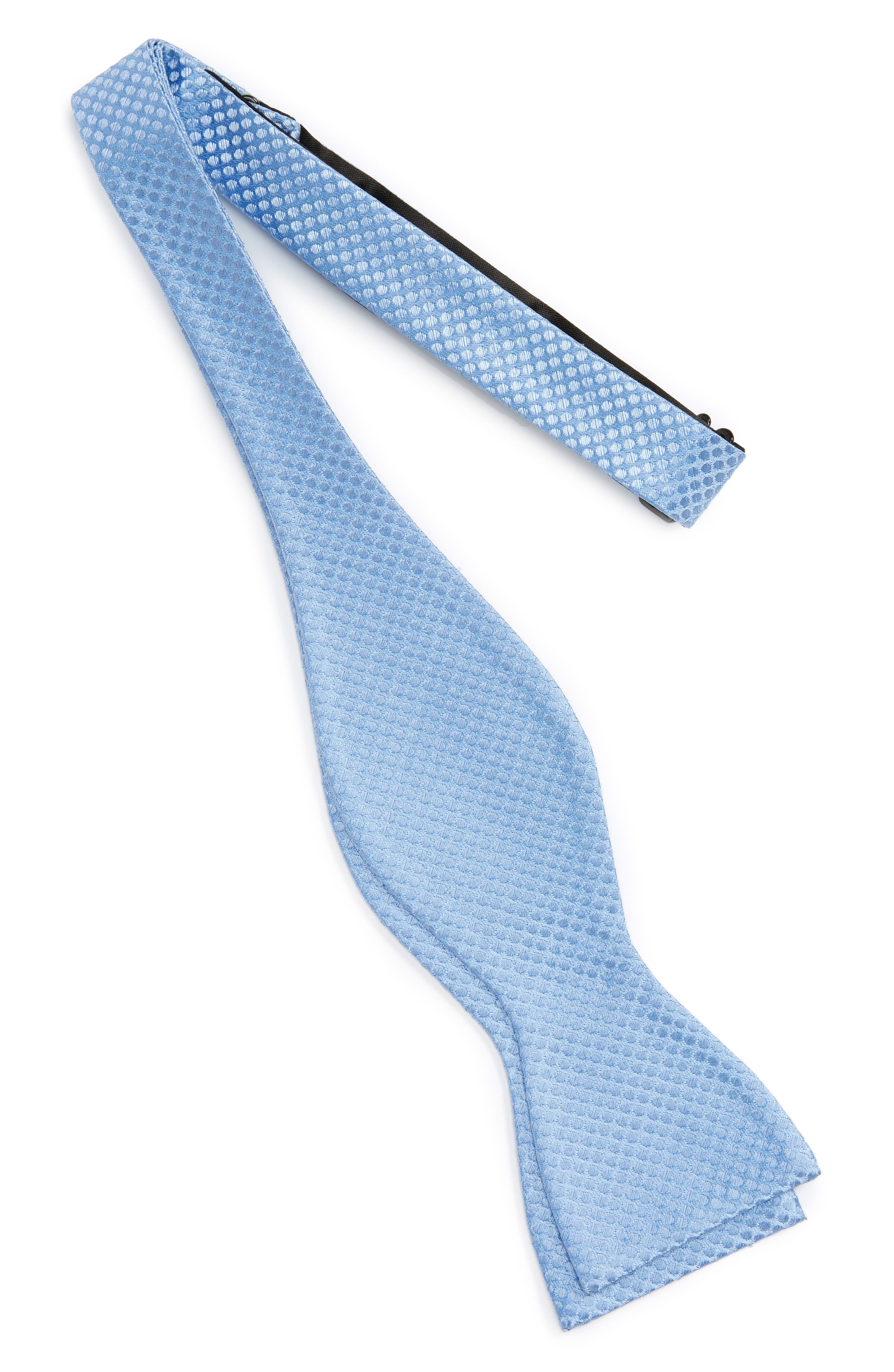 Saturated Dot Silk Bow Tie,                             Alternate thumbnail 5, color,
