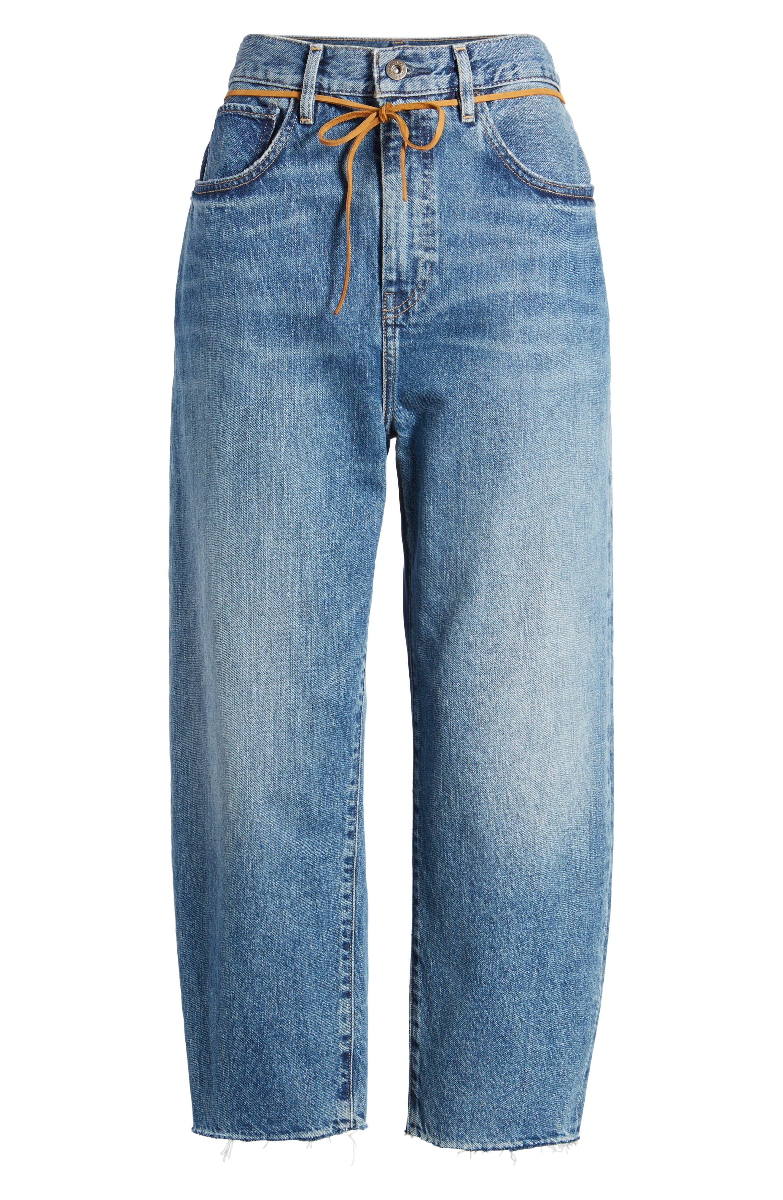 Barrel Jeans,                             Alternate thumbnail 7, color,                             420