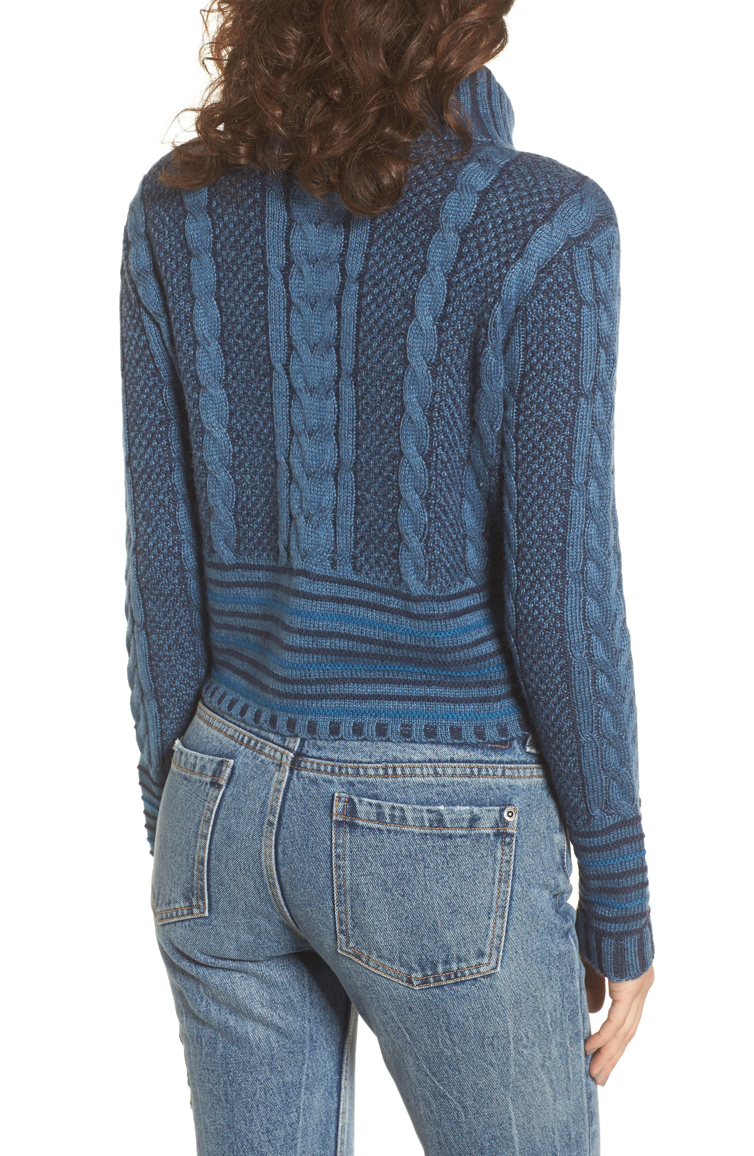 Mix Up Knit Sweater,                             Alternate thumbnail 2, color,                             400