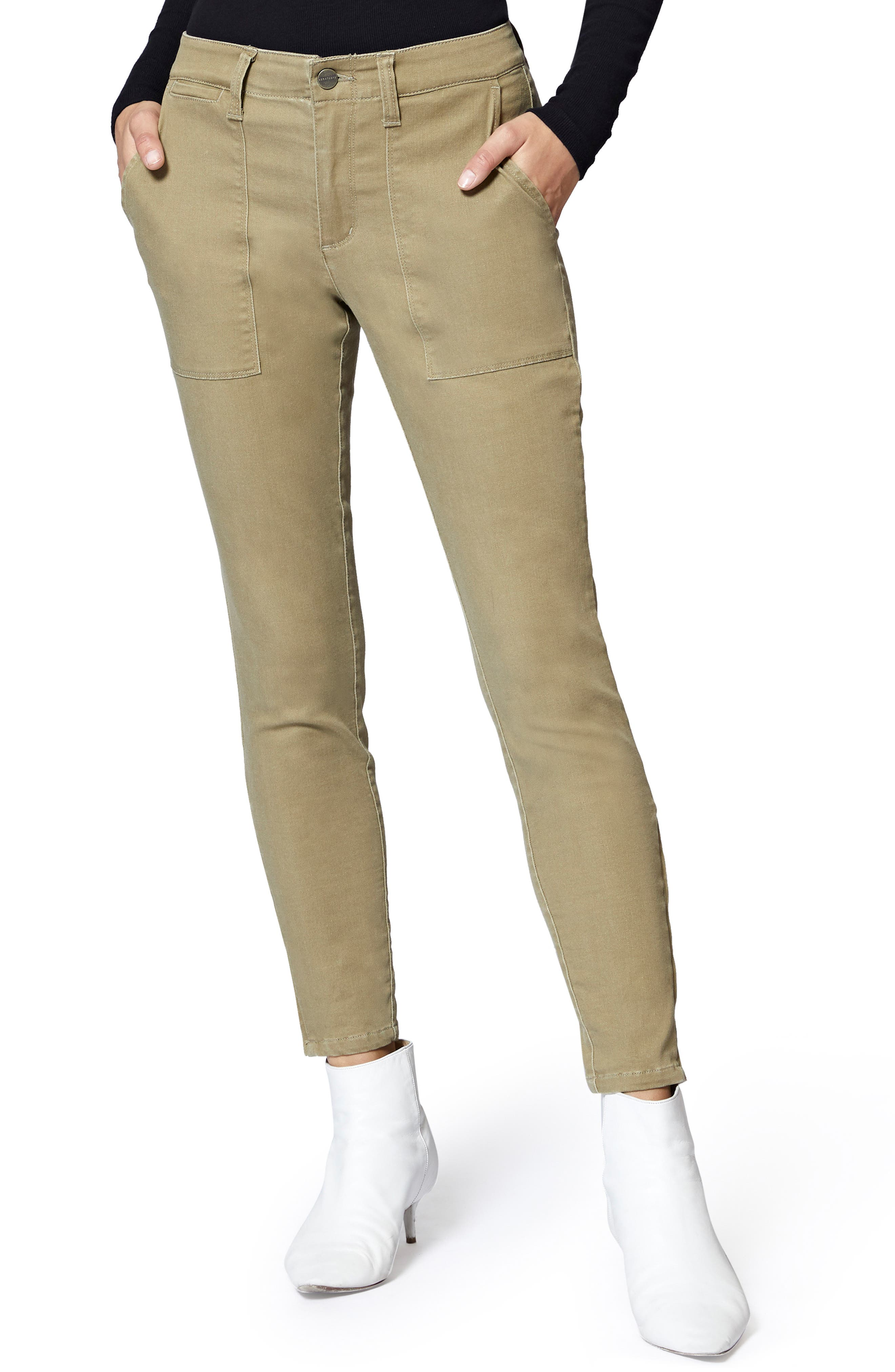 Fast Track Skinny Chino Pants,                             Main thumbnail 1, color,                             PROSPERITY GREEN