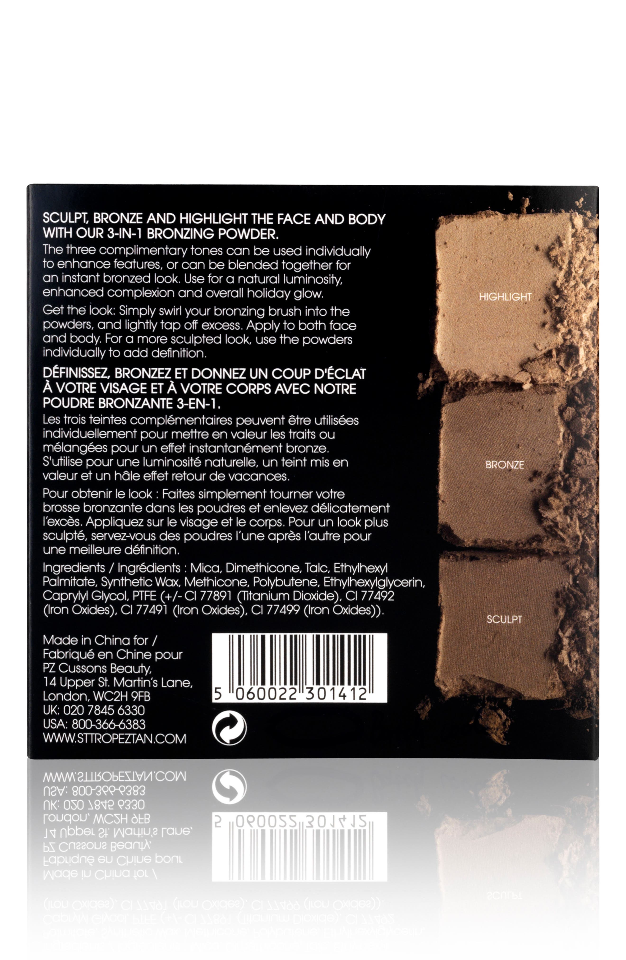 3-in-1 Bronzing Powder,                             Alternate thumbnail 3, color,                             NO COLOR