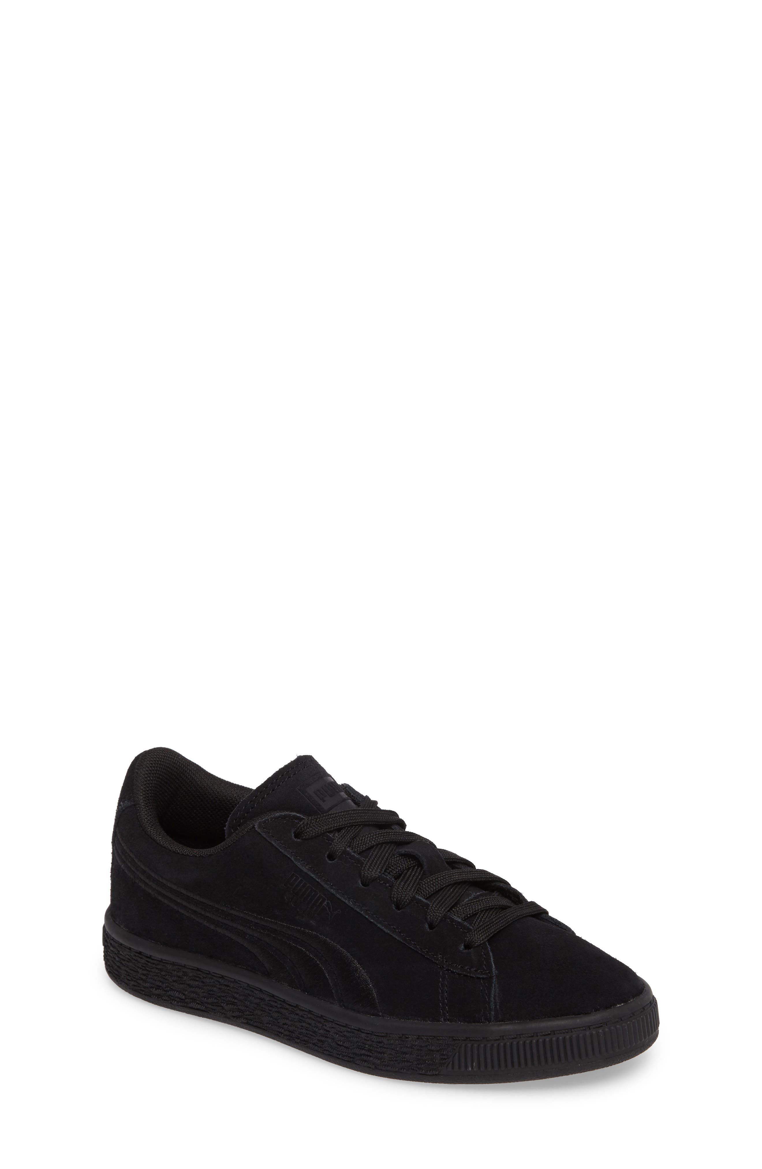 Suede Classic Badge PS Sneaker,                         Main,                         color, 001