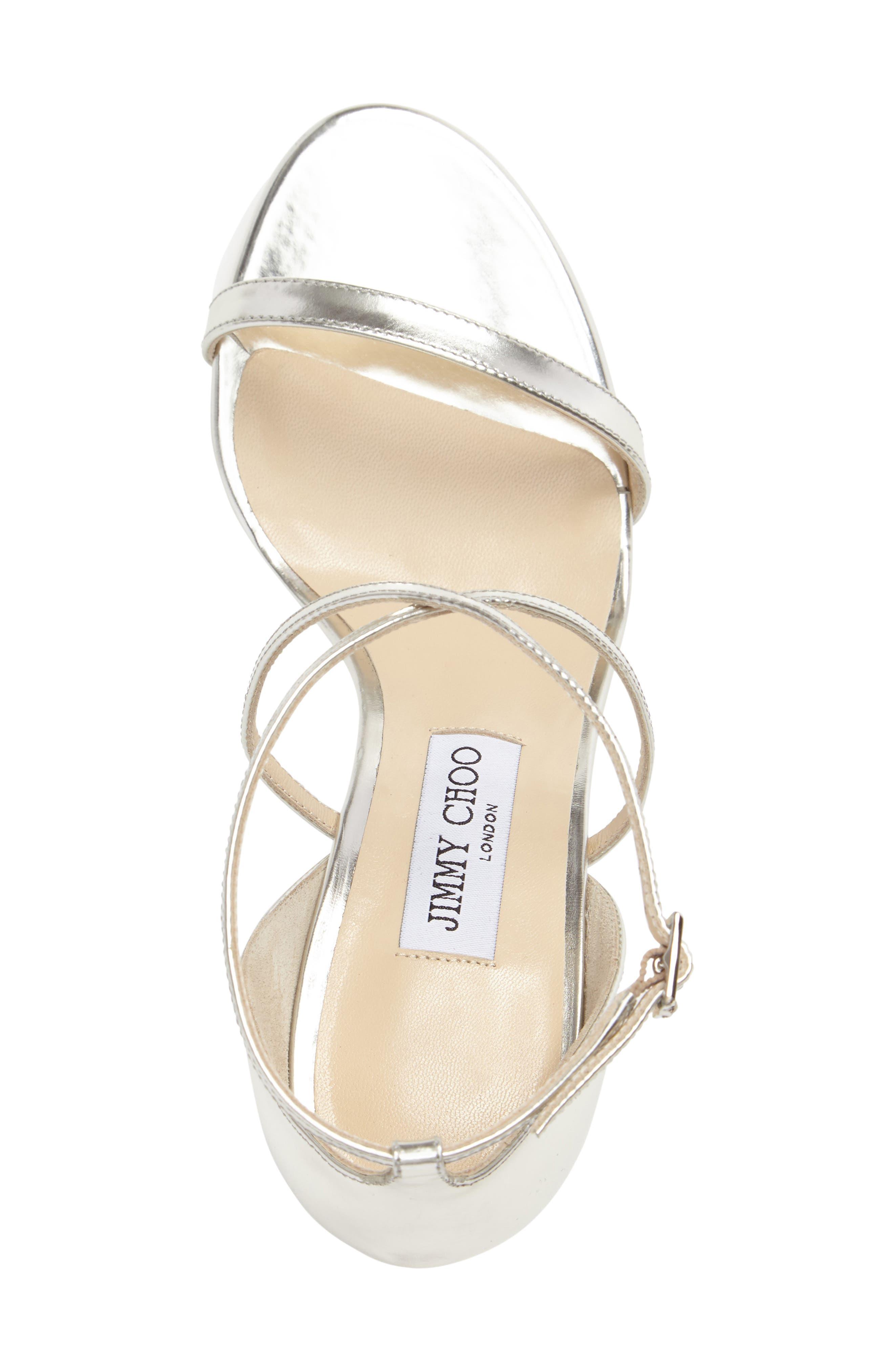 'Hesper' Ankle Strap Sandal,                             Alternate thumbnail 4, color,                             040
