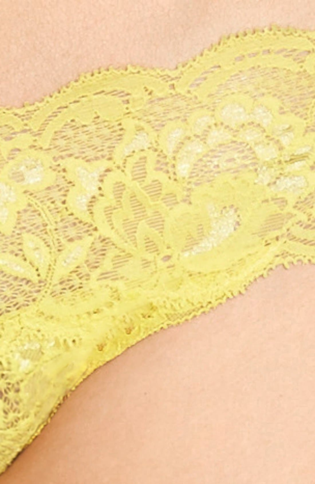 'Never Say Never Cutie' Thong,                             Alternate thumbnail 289, color,