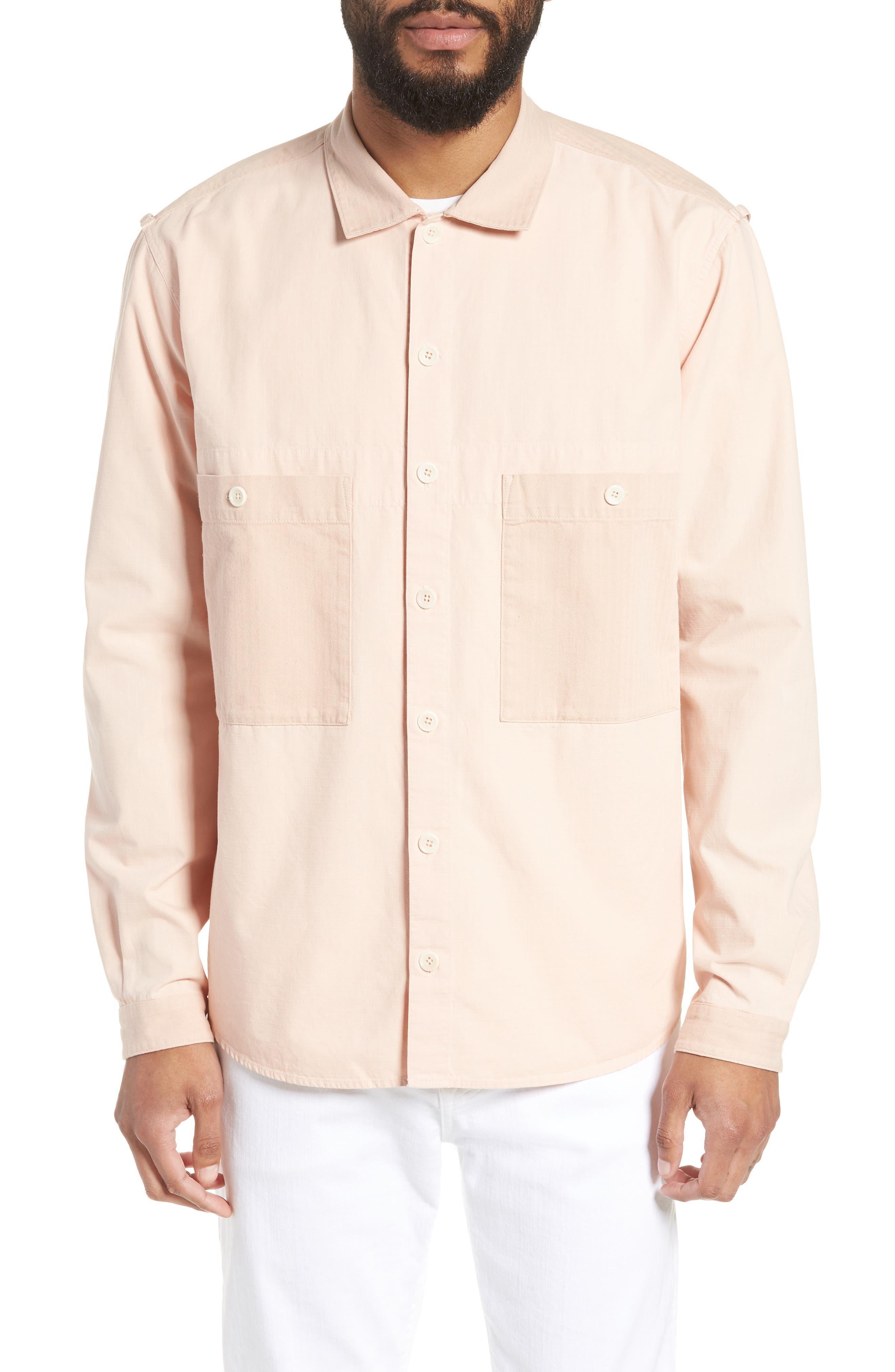 Doc Savage Slim Fit Sport Shirt,                             Main thumbnail 1, color,