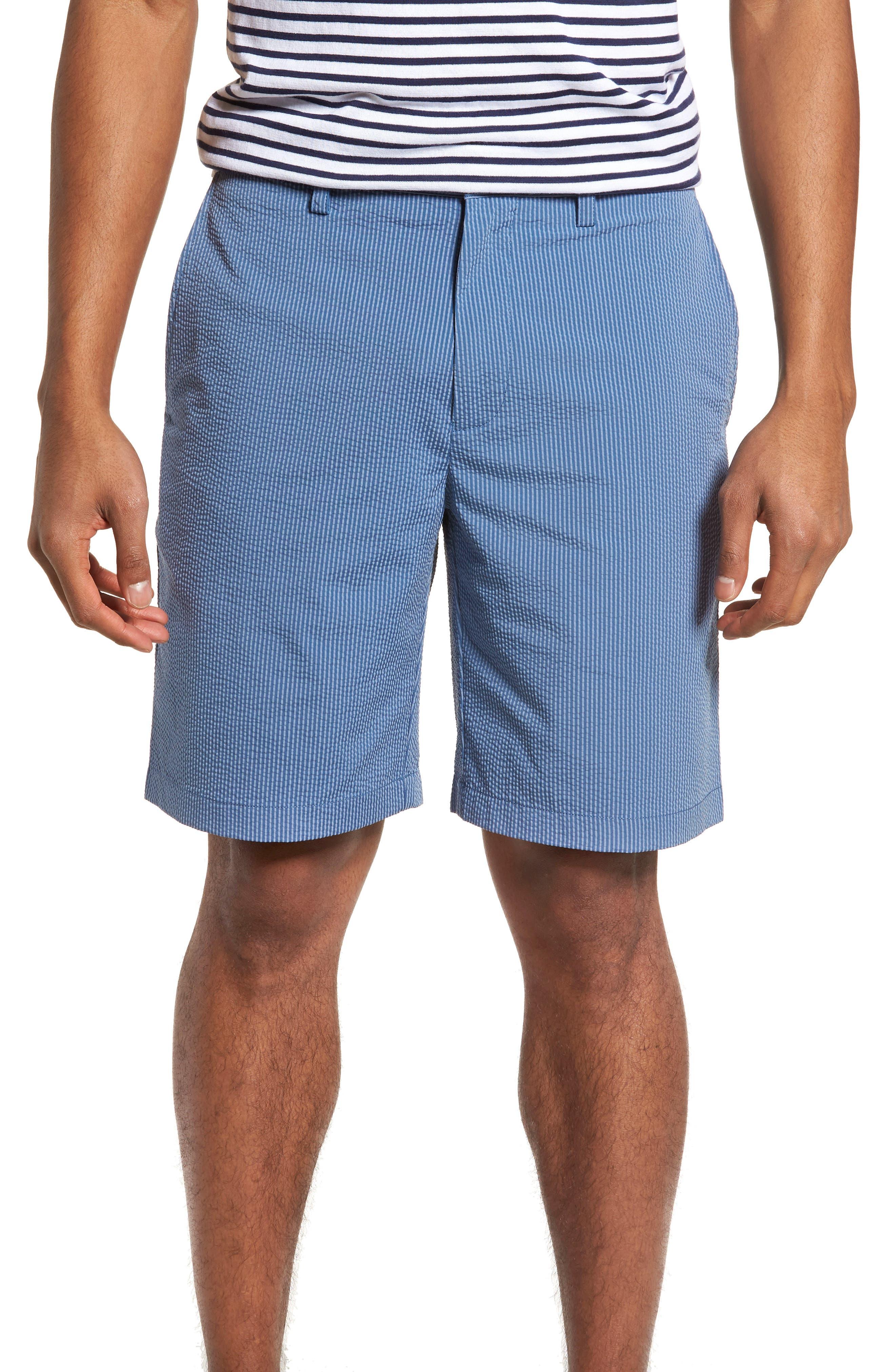 Seersucker Shorts,                         Main,                         color, 425