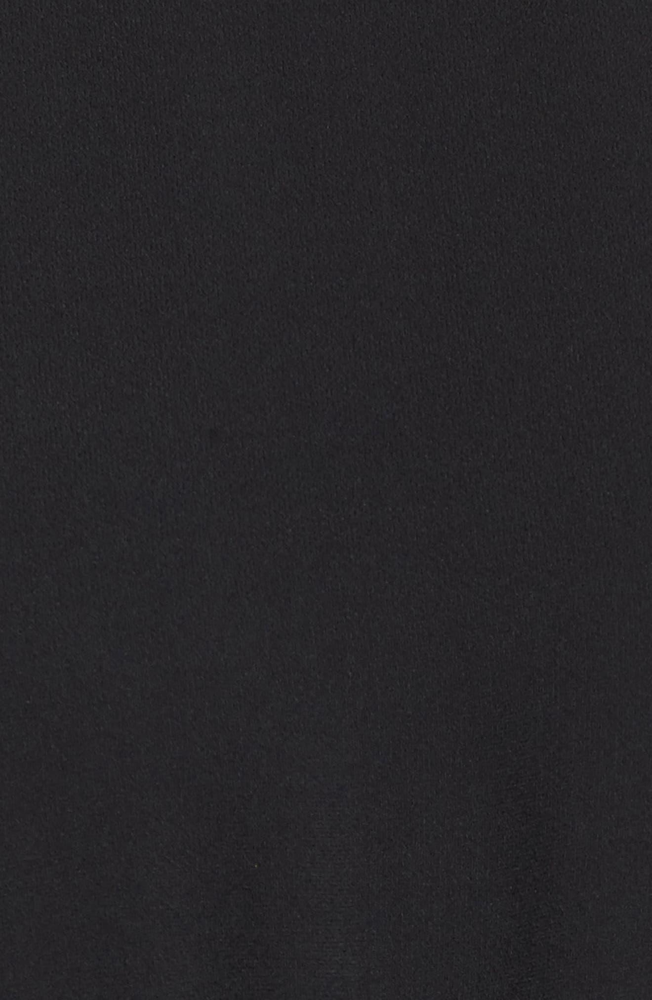 St Germain Ruffle Fit & Flare Dress,                             Alternate thumbnail 9, color,