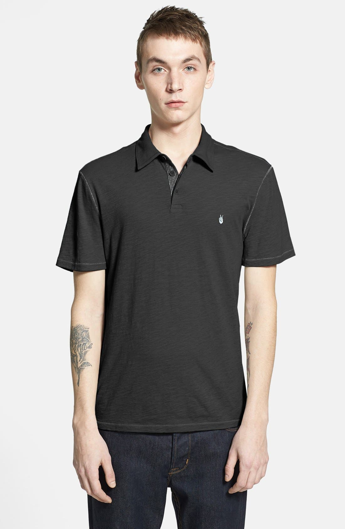 Slim Fit Polo,                             Main thumbnail 1, color,
