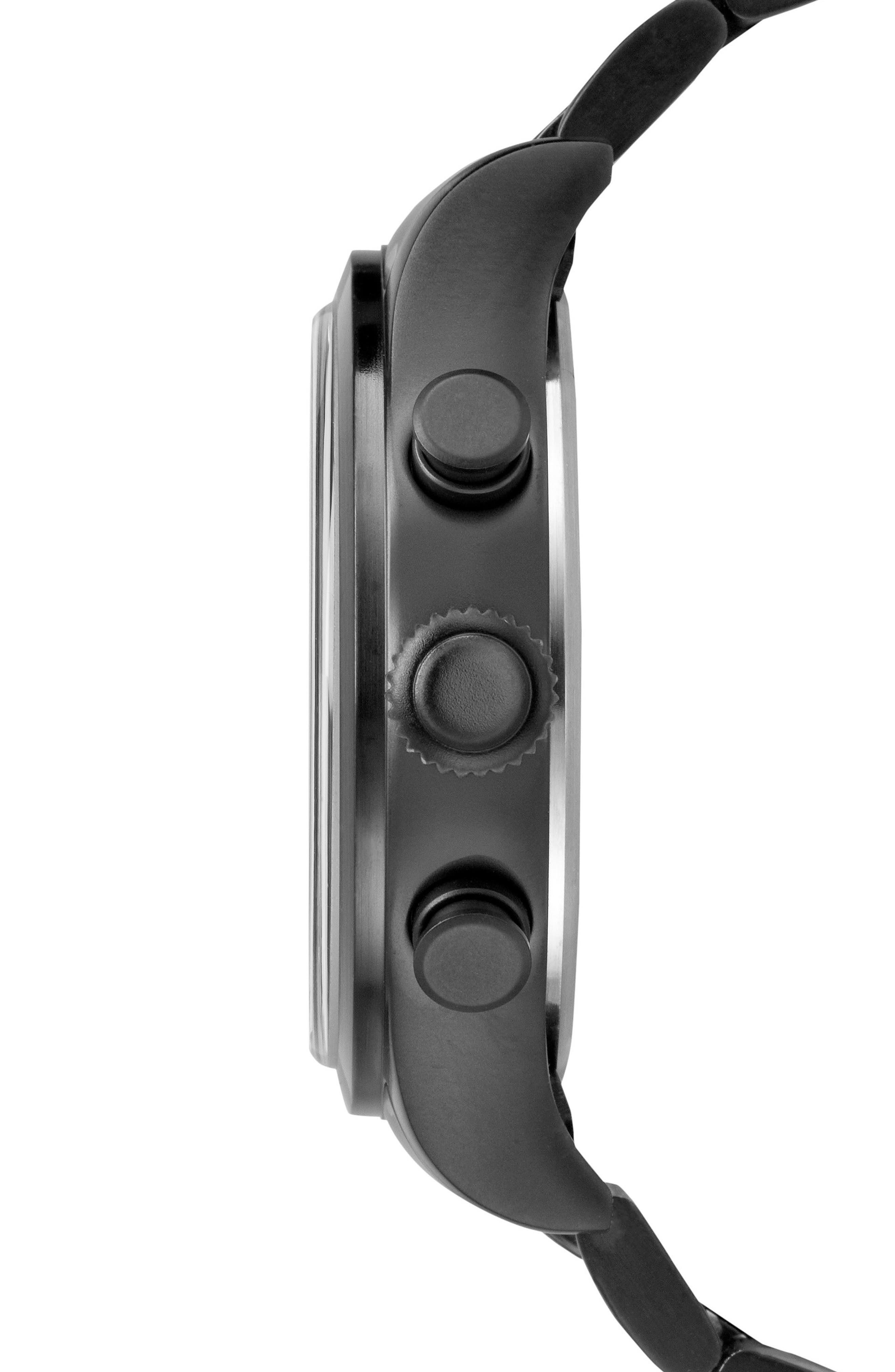 Waterbury Chronograph Bracelet Watch, 42mm,                             Alternate thumbnail 2, color,                             001