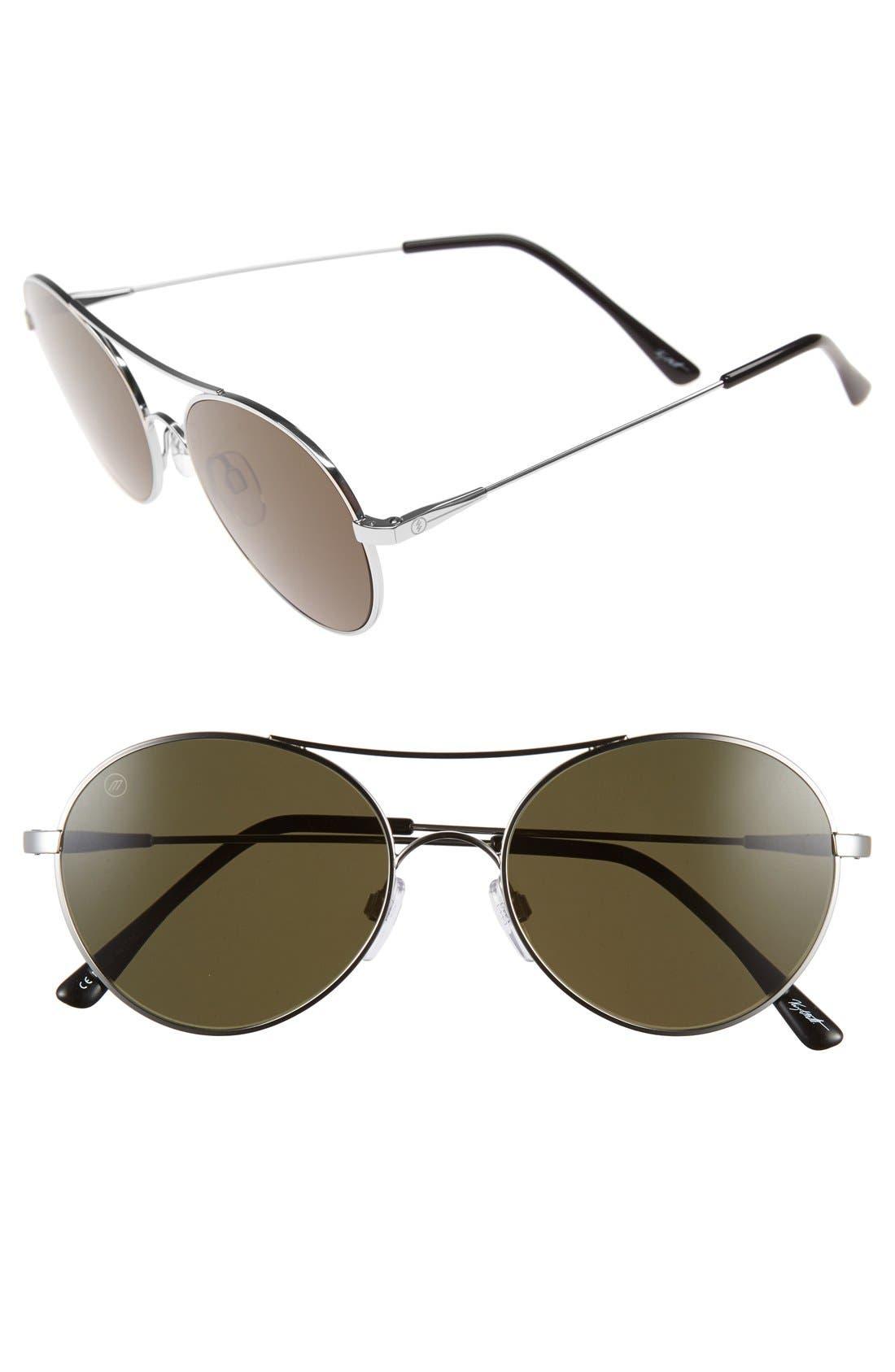 'Huxley' 53mm Round Sunglasses,                             Main thumbnail 1, color,                             040