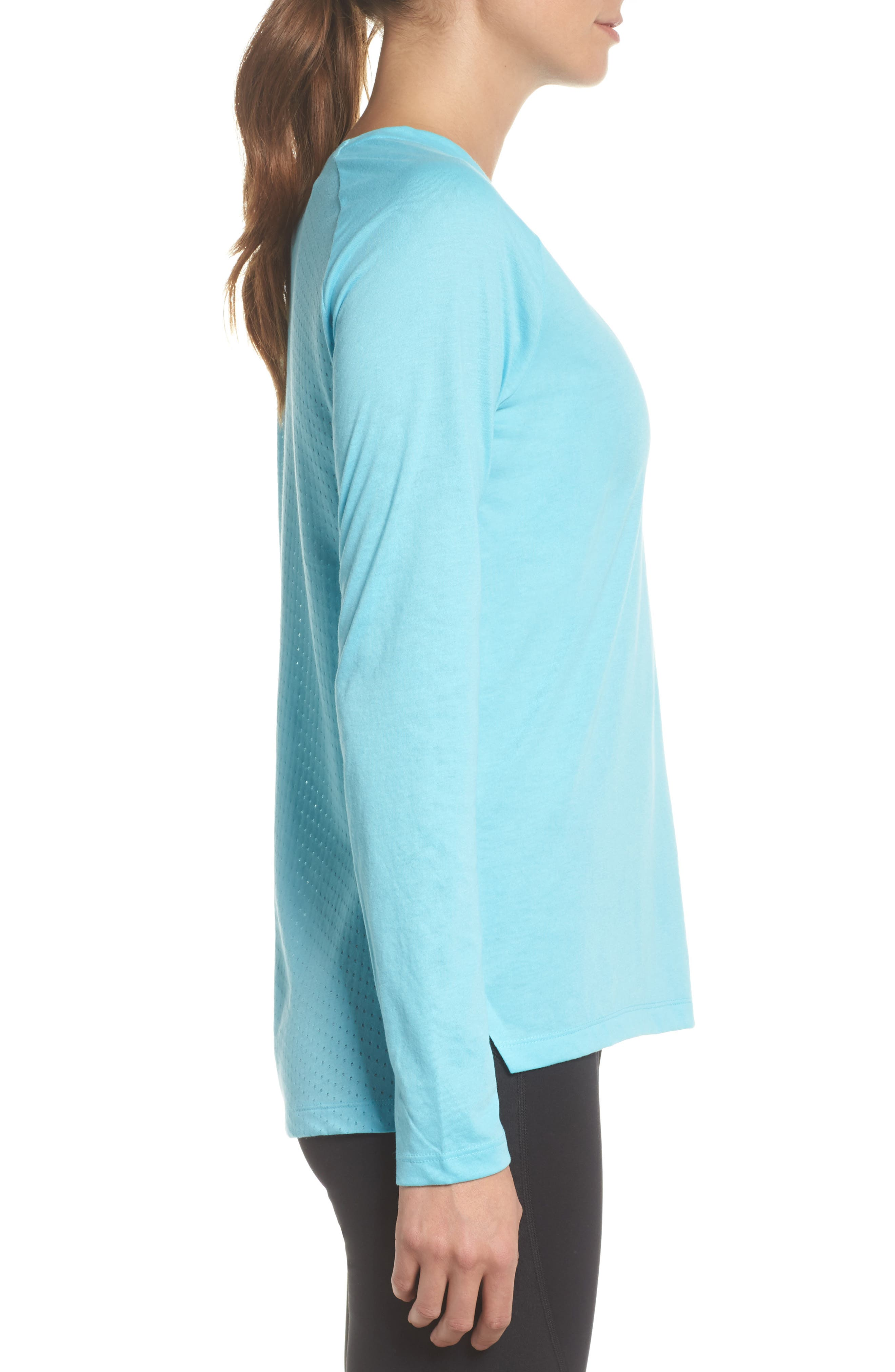 Breathe Tailwind Running Top,                             Alternate thumbnail 7, color,