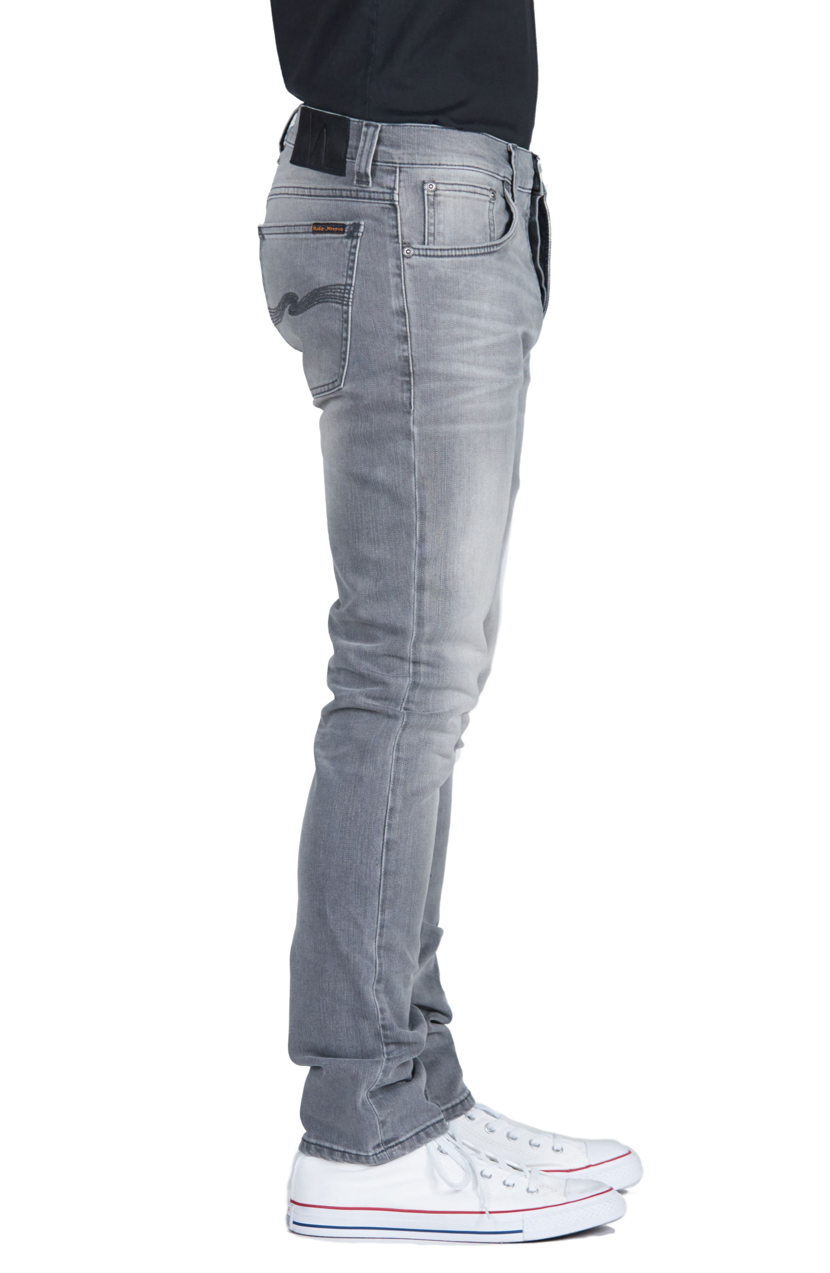 Lean Dean Slouchy Skinny Fit Jeans,                             Alternate thumbnail 3, color,