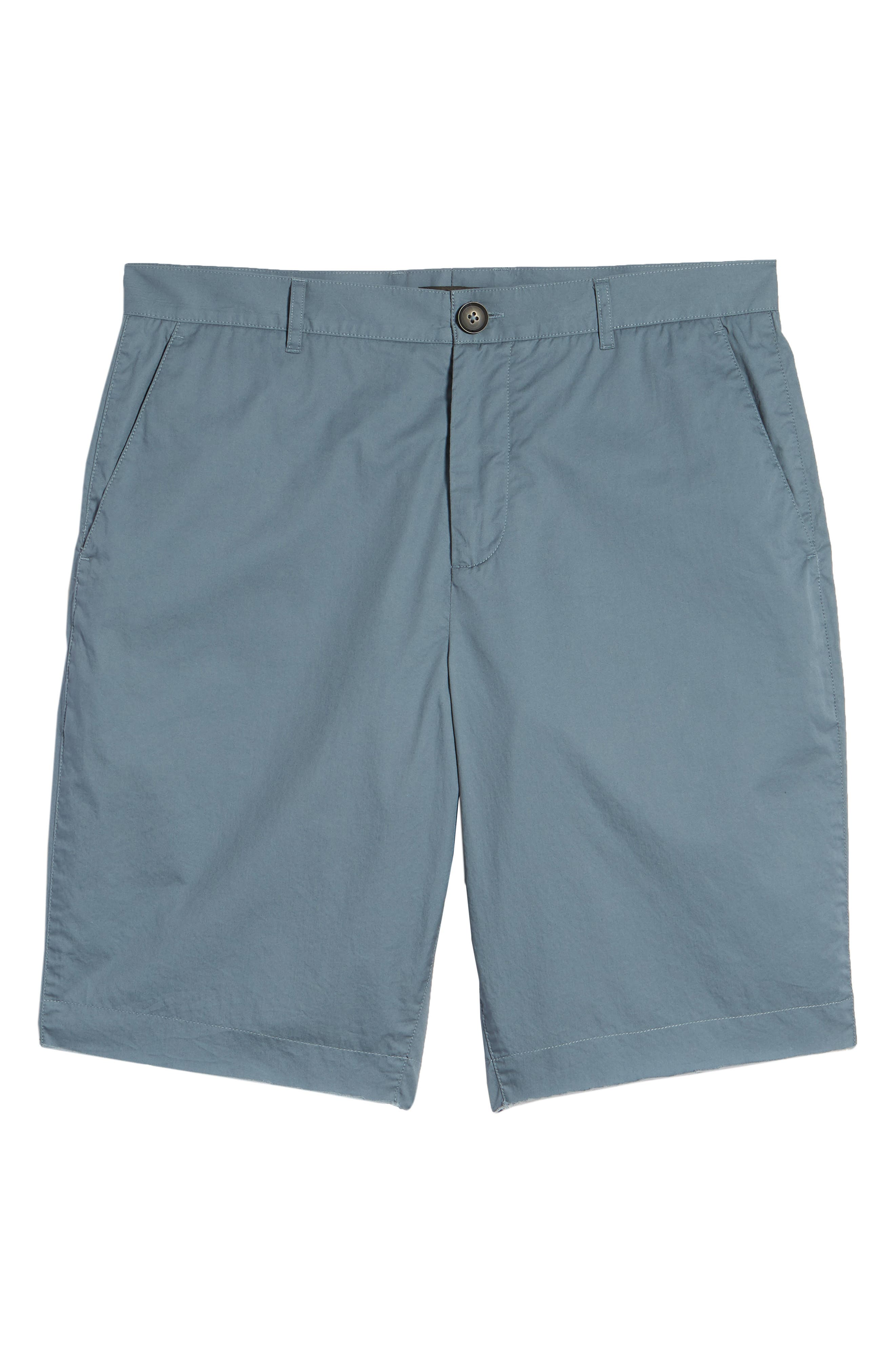 Poplin Cotton Shorts,                             Alternate thumbnail 6, color,                             425