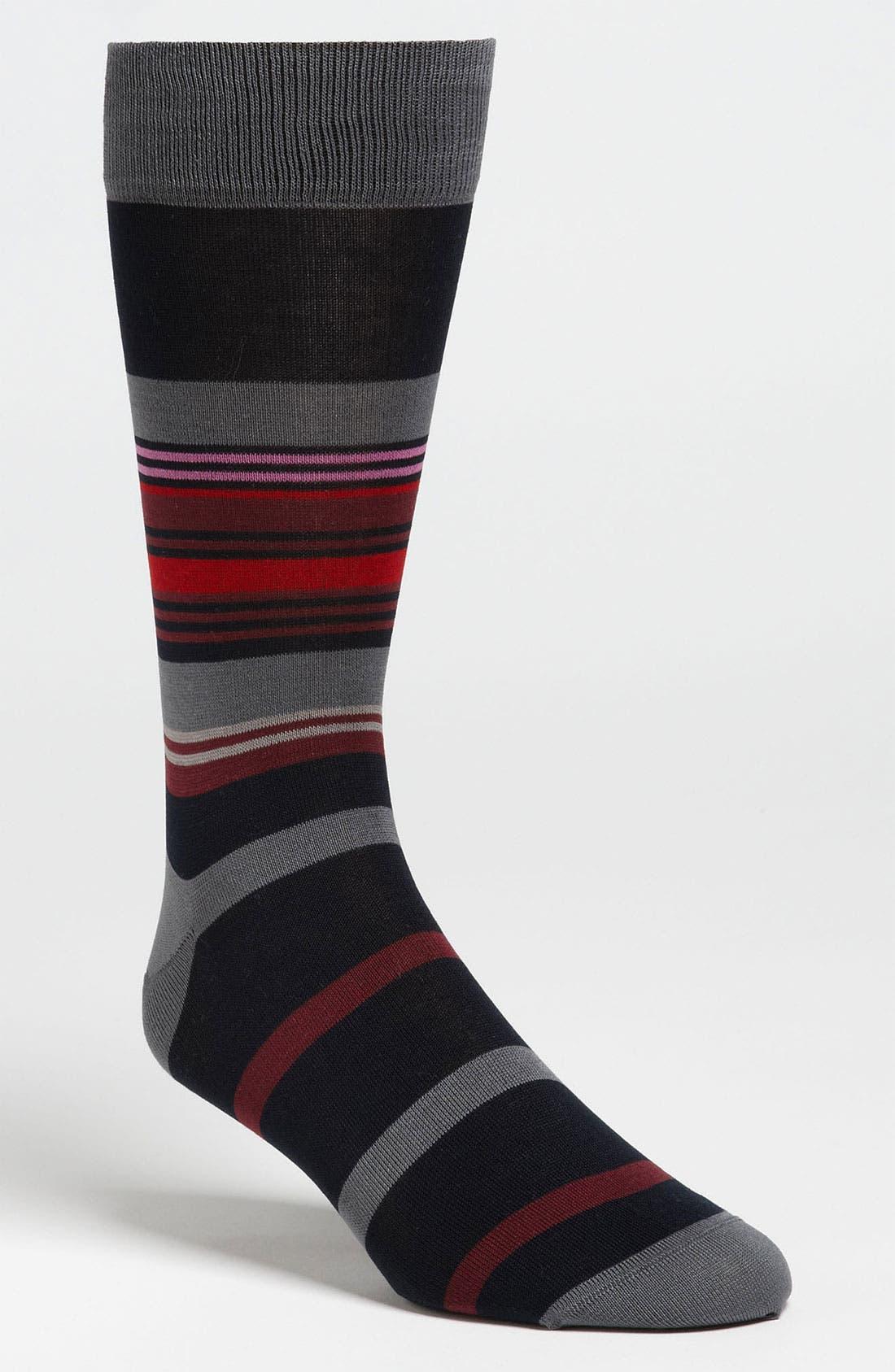 Stripe Socks,                             Main thumbnail 7, color,