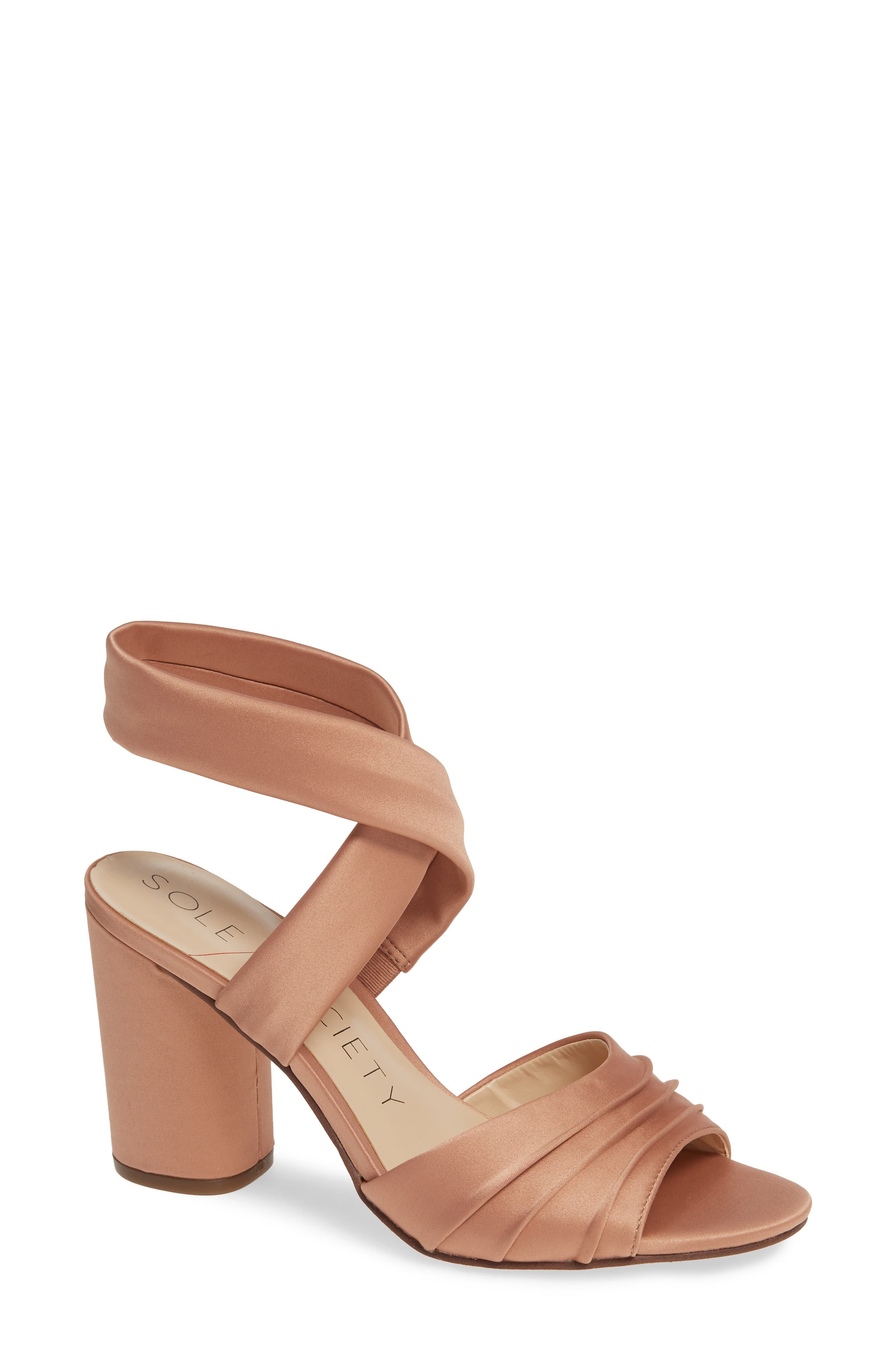 Sole Society Selbie Sandal, Pink