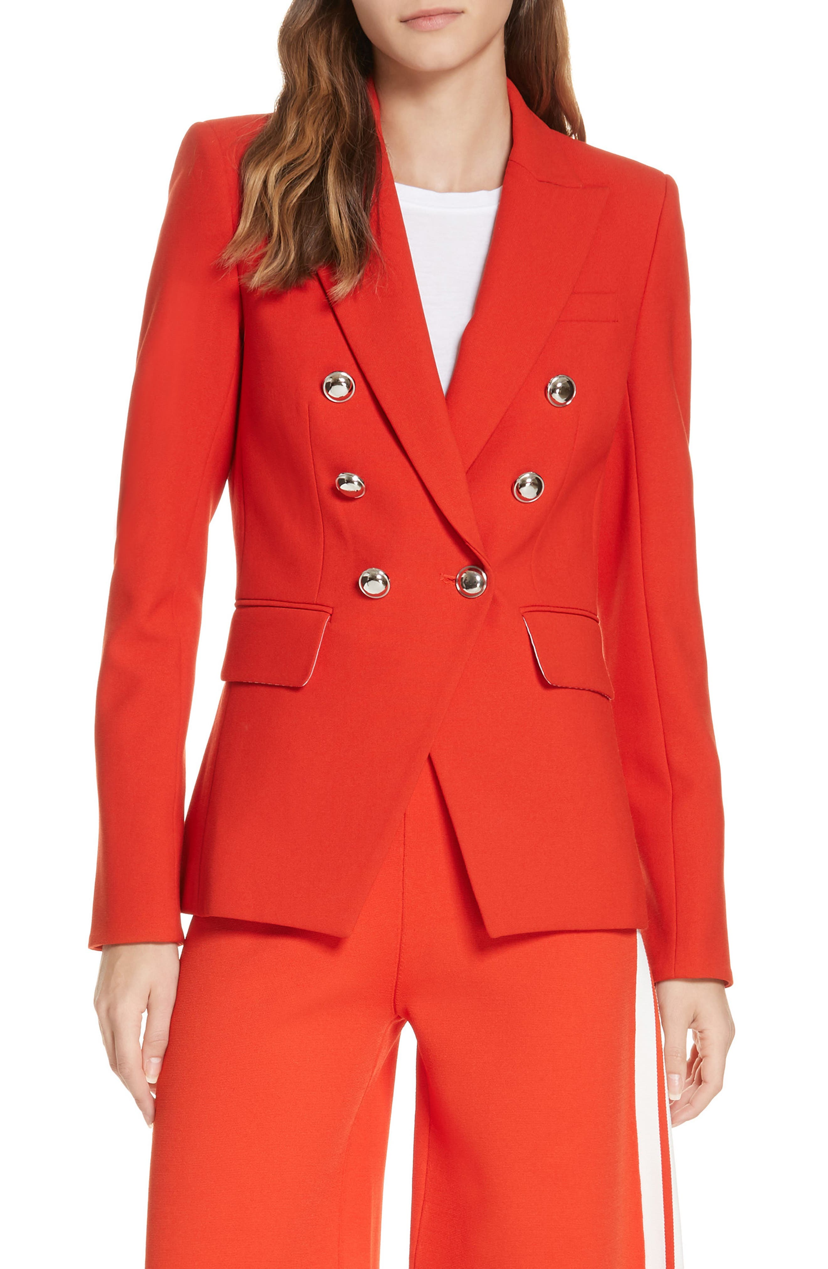 Miller Dickey Jacket,                             Main thumbnail 1, color,                             RED