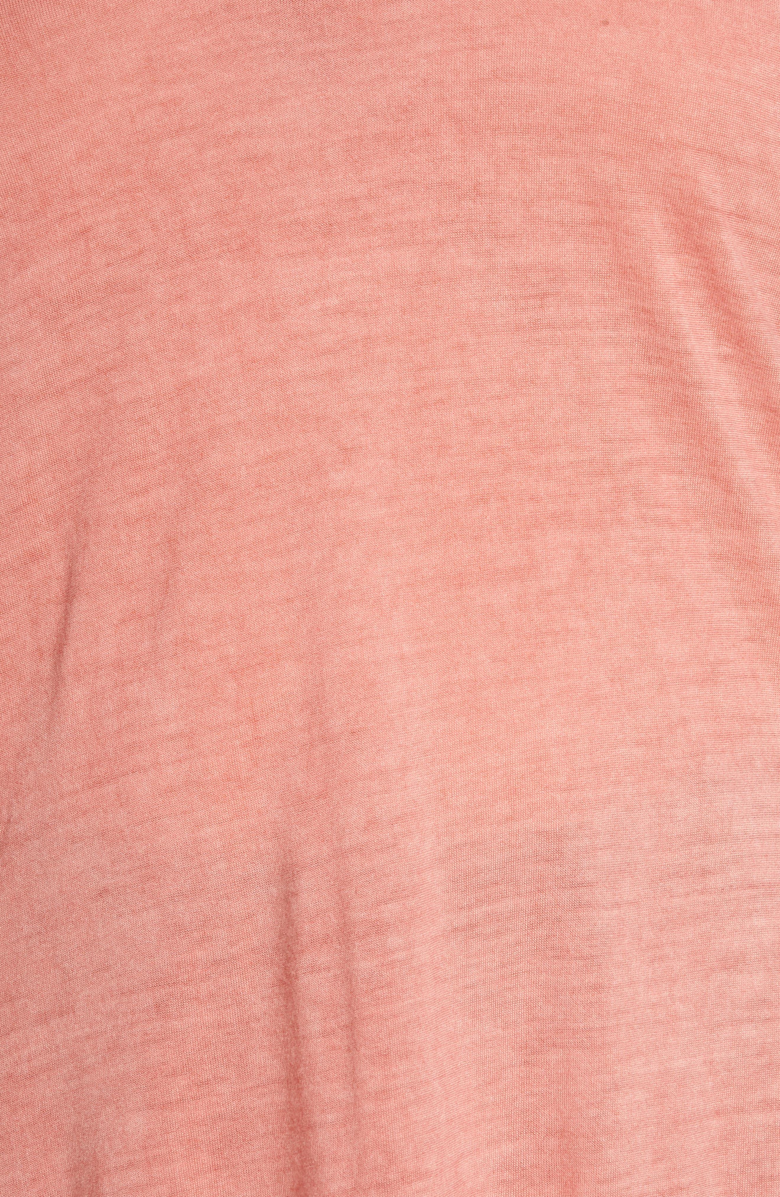 Oil Dye Split Shoulder Top,                             Alternate thumbnail 11, color,