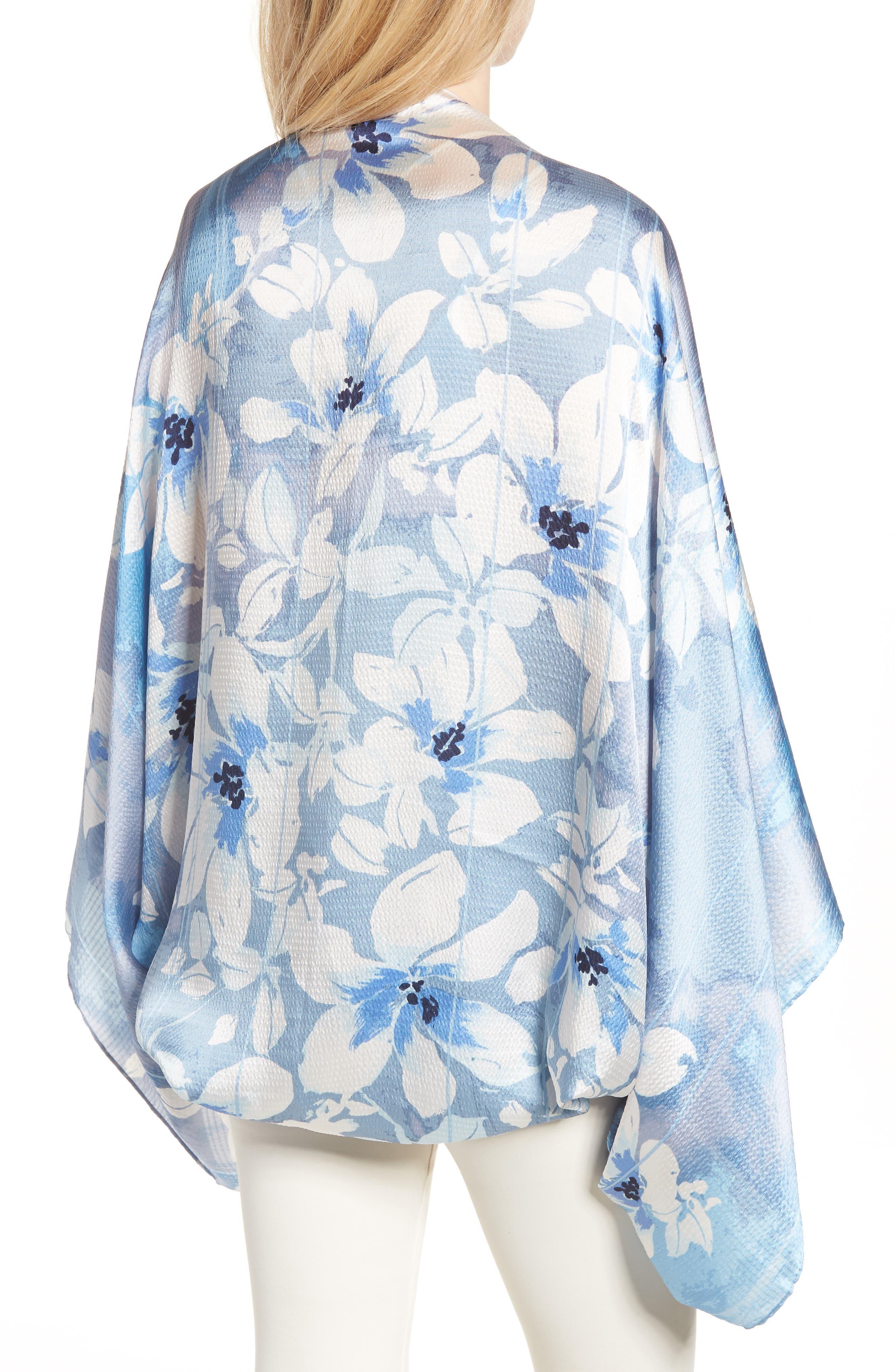 Silk Shrug Kimono,                             Alternate thumbnail 2, color,                             420