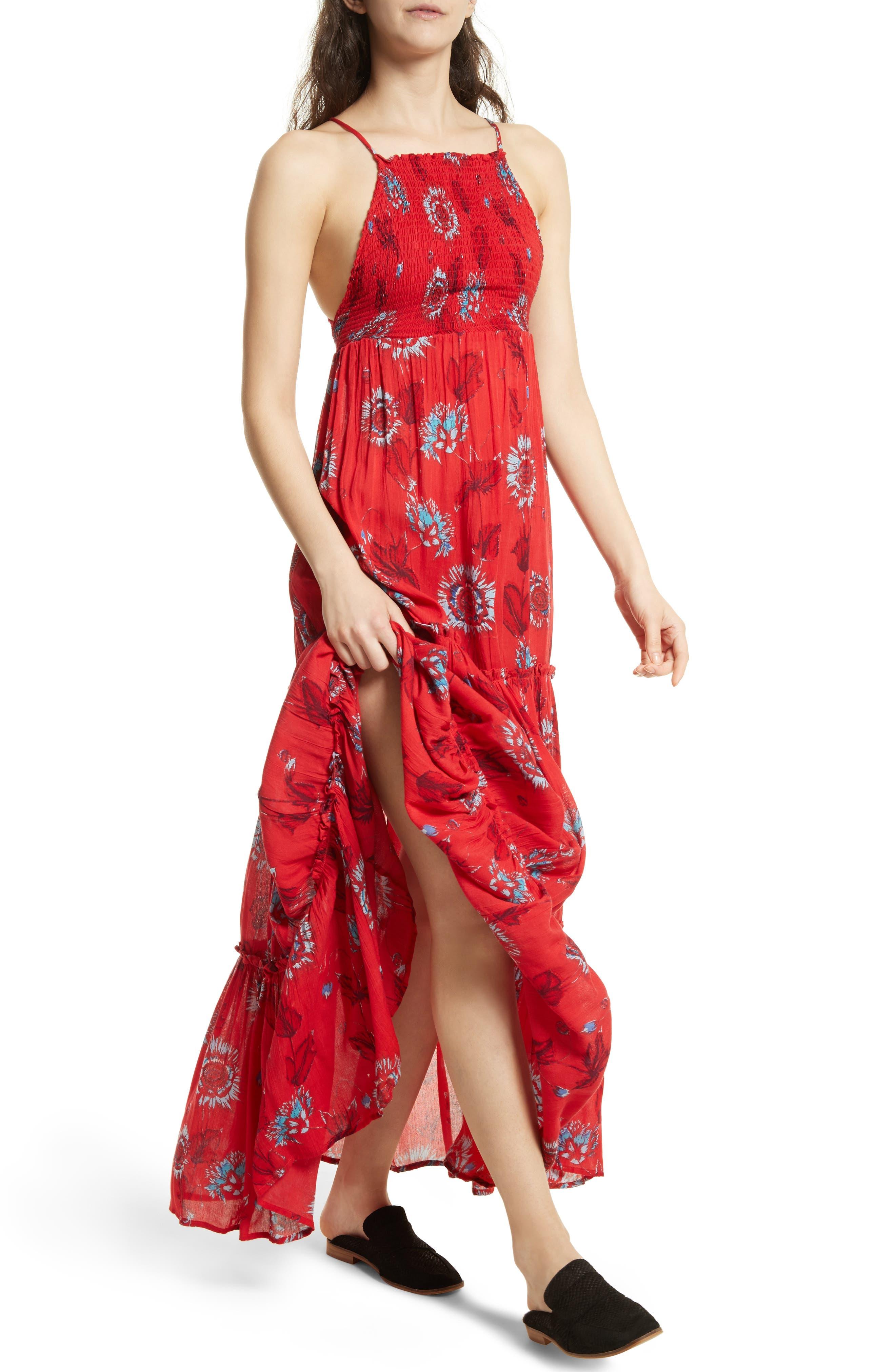 Garden Party Maxi Dress,                             Alternate thumbnail 28, color,