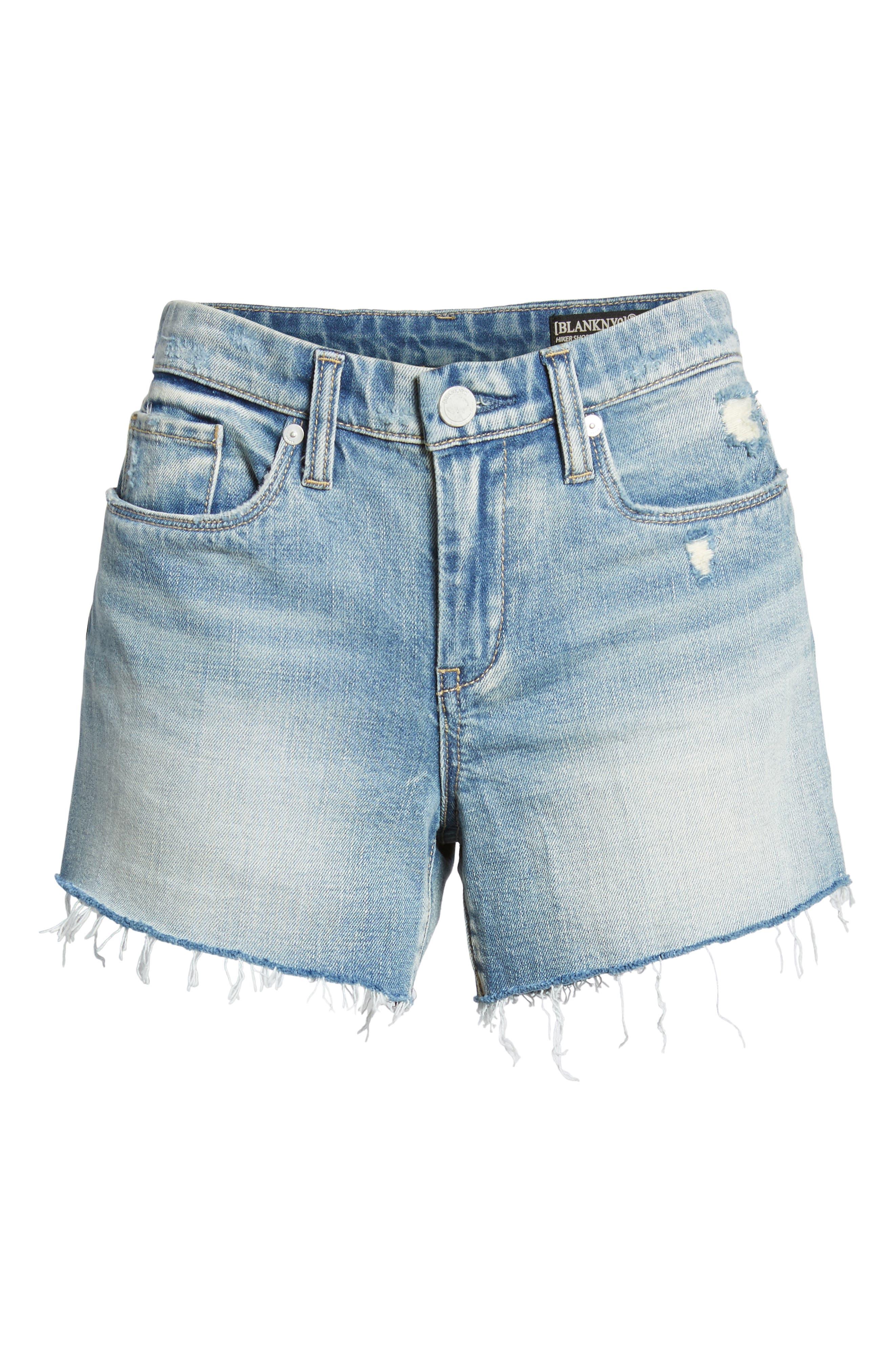 The Essex Cutoff Denim Shorts,                             Alternate thumbnail 7, color,