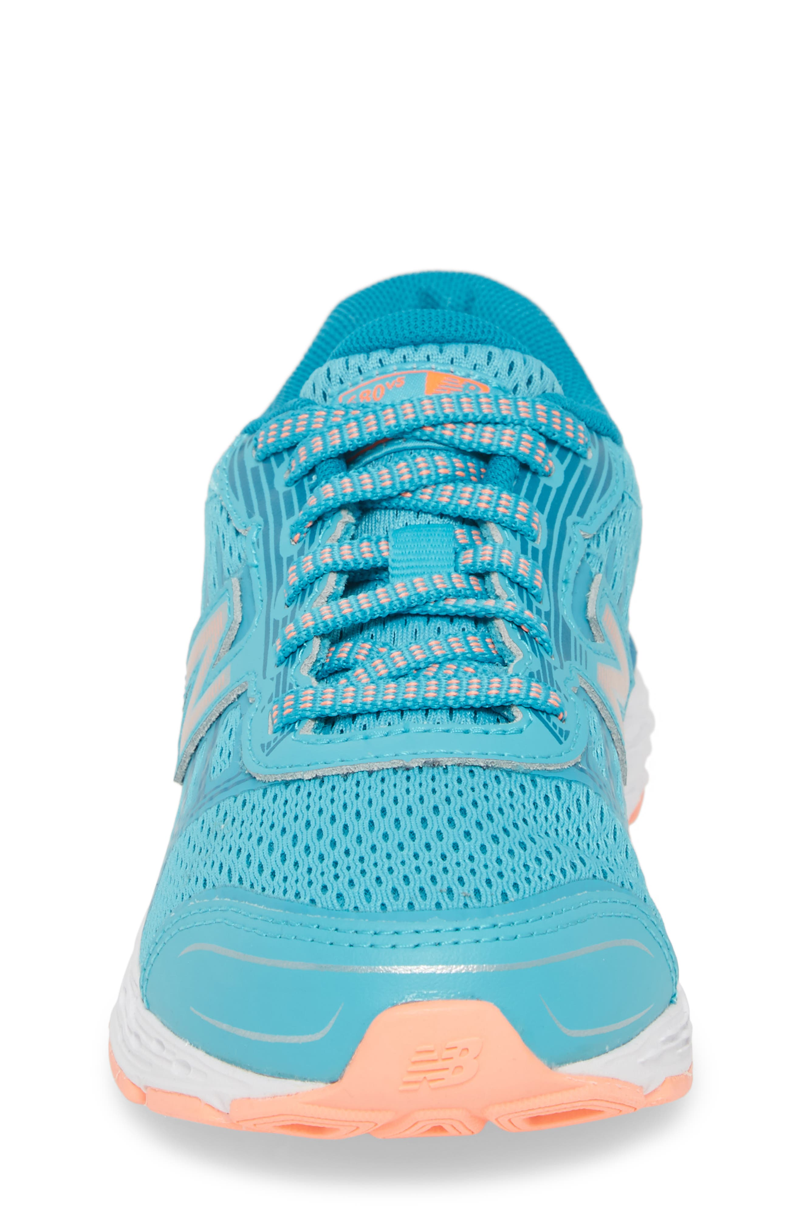 680v5 Running Shoe,                             Alternate thumbnail 4, color,                             DEEP OZONE BLUE