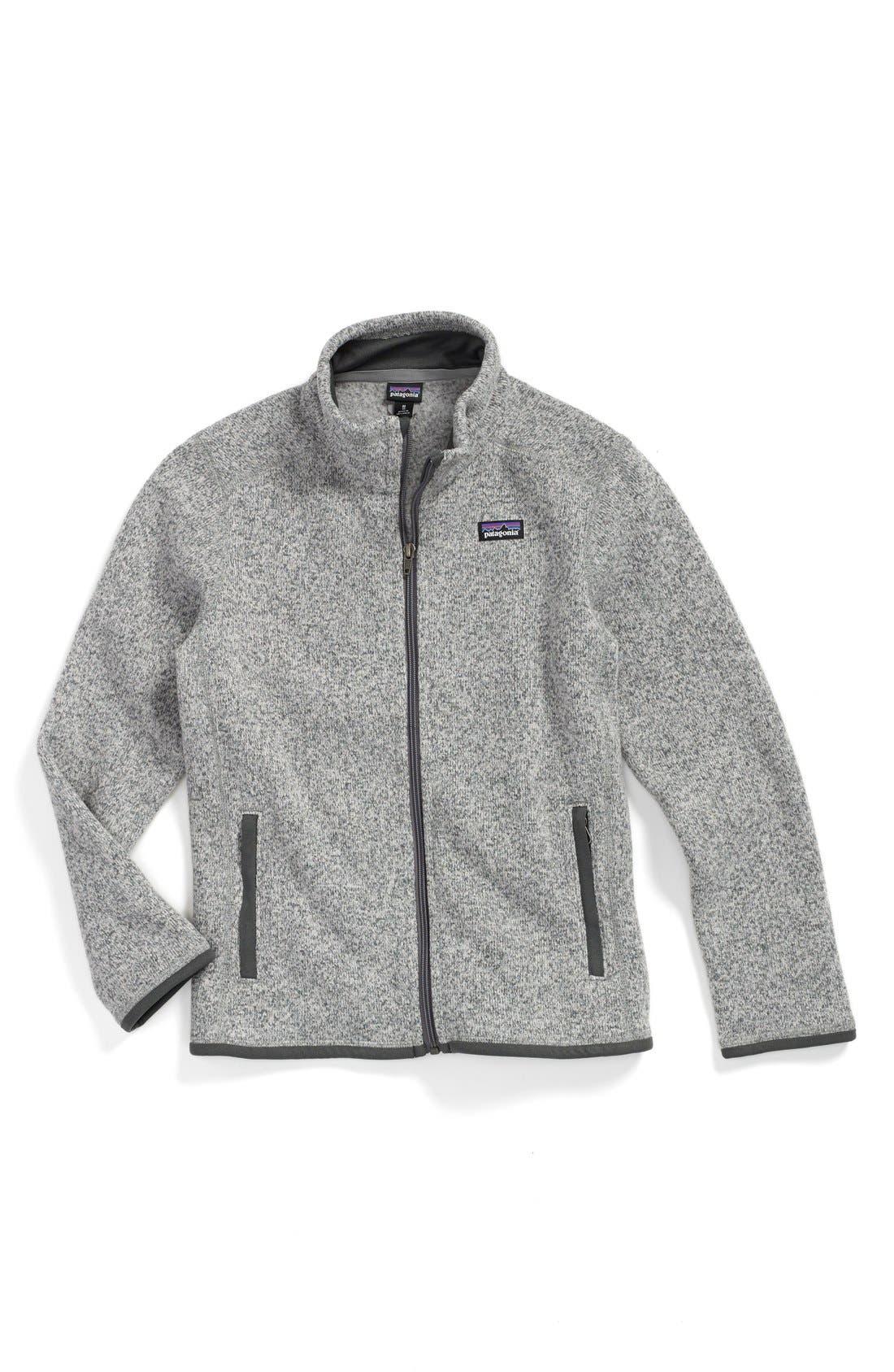 Better Sweater Jacket,                         Main,                         color, STONEWASH GREY