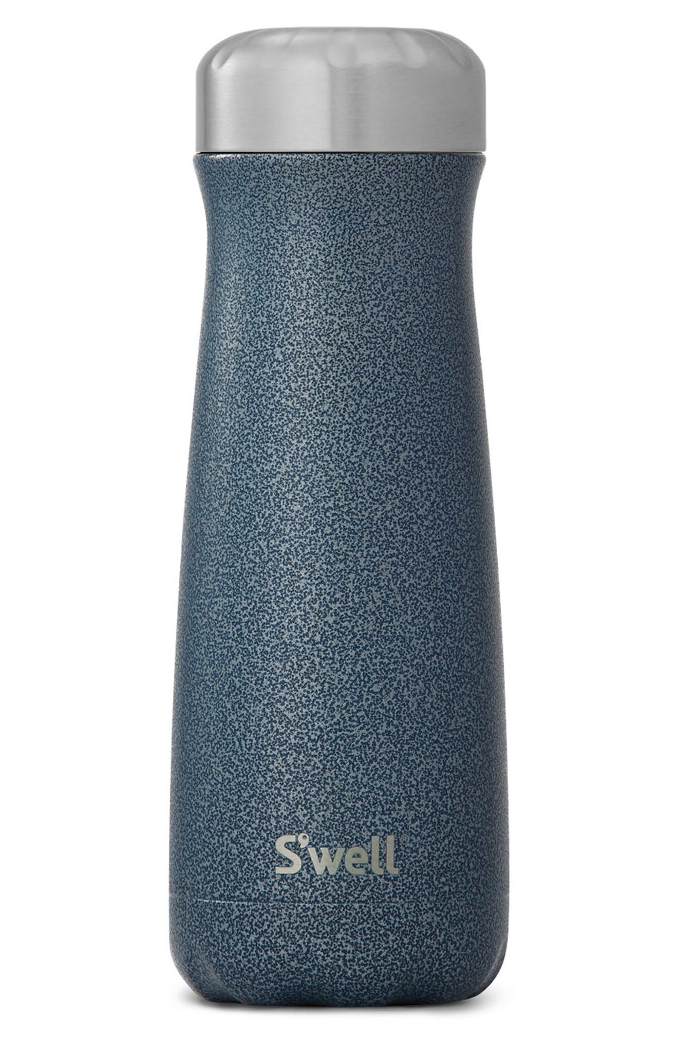 Traveler Night Sky Insulated Stainless Steel Water Bottle,                             Main thumbnail 1, color,                             NIGHT SKY