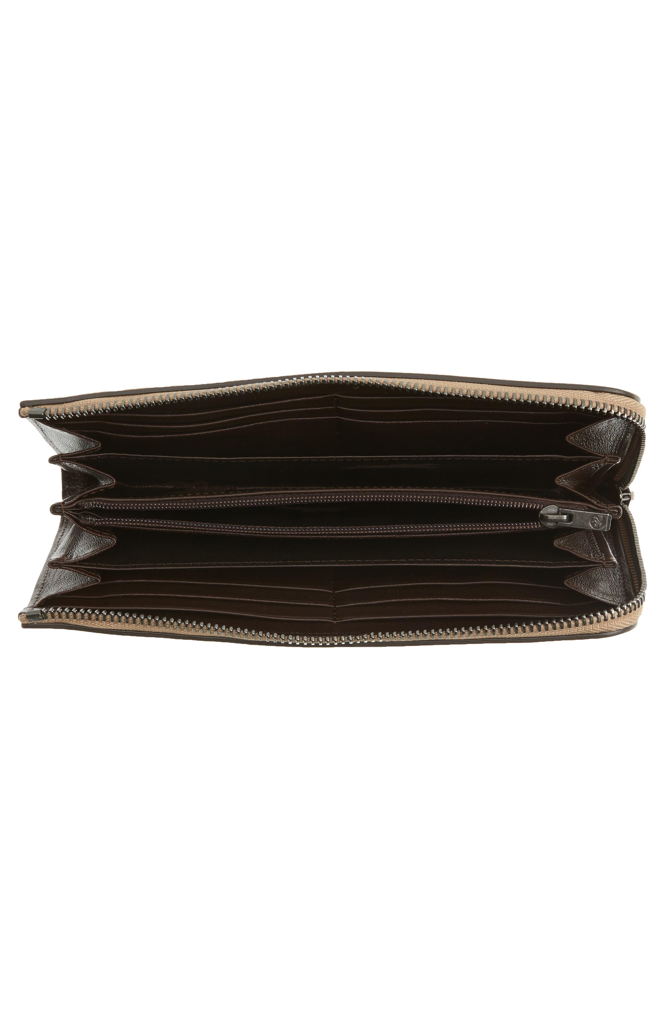 3D Leather Wallet,                             Alternate thumbnail 4, color,                             250
