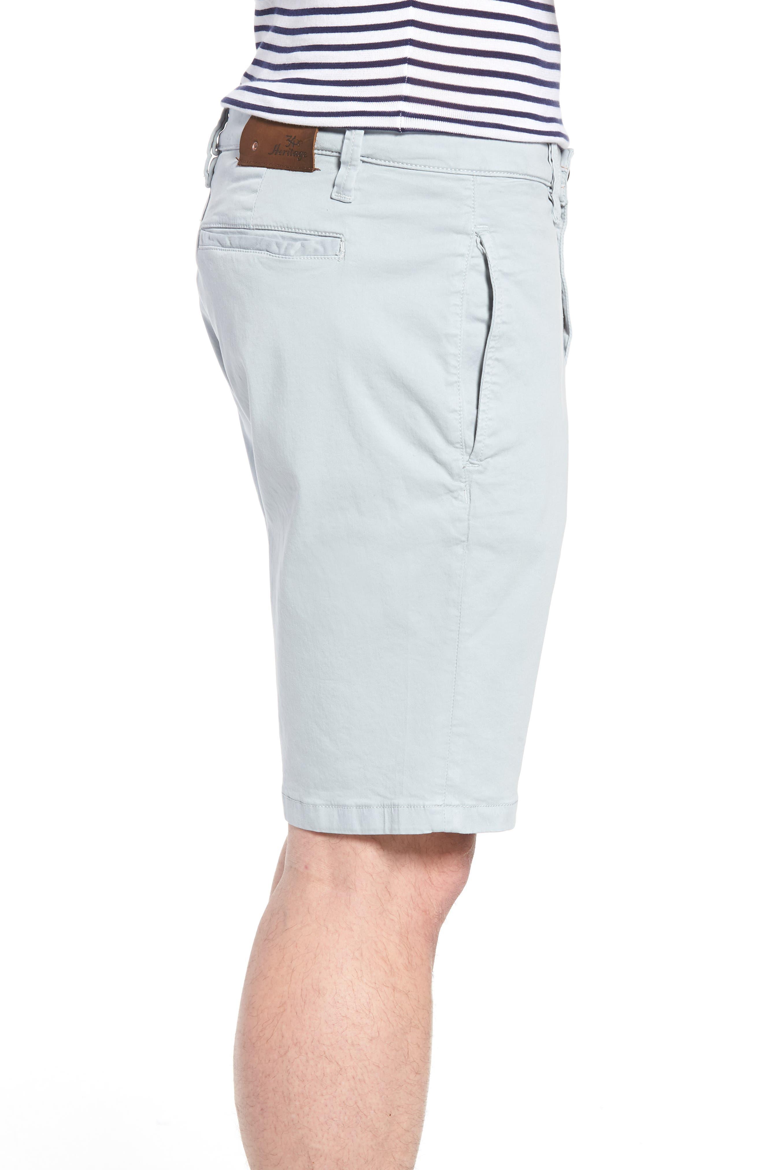 Nevada Twill Shorts,                             Alternate thumbnail 3, color,                             ICE TWILL