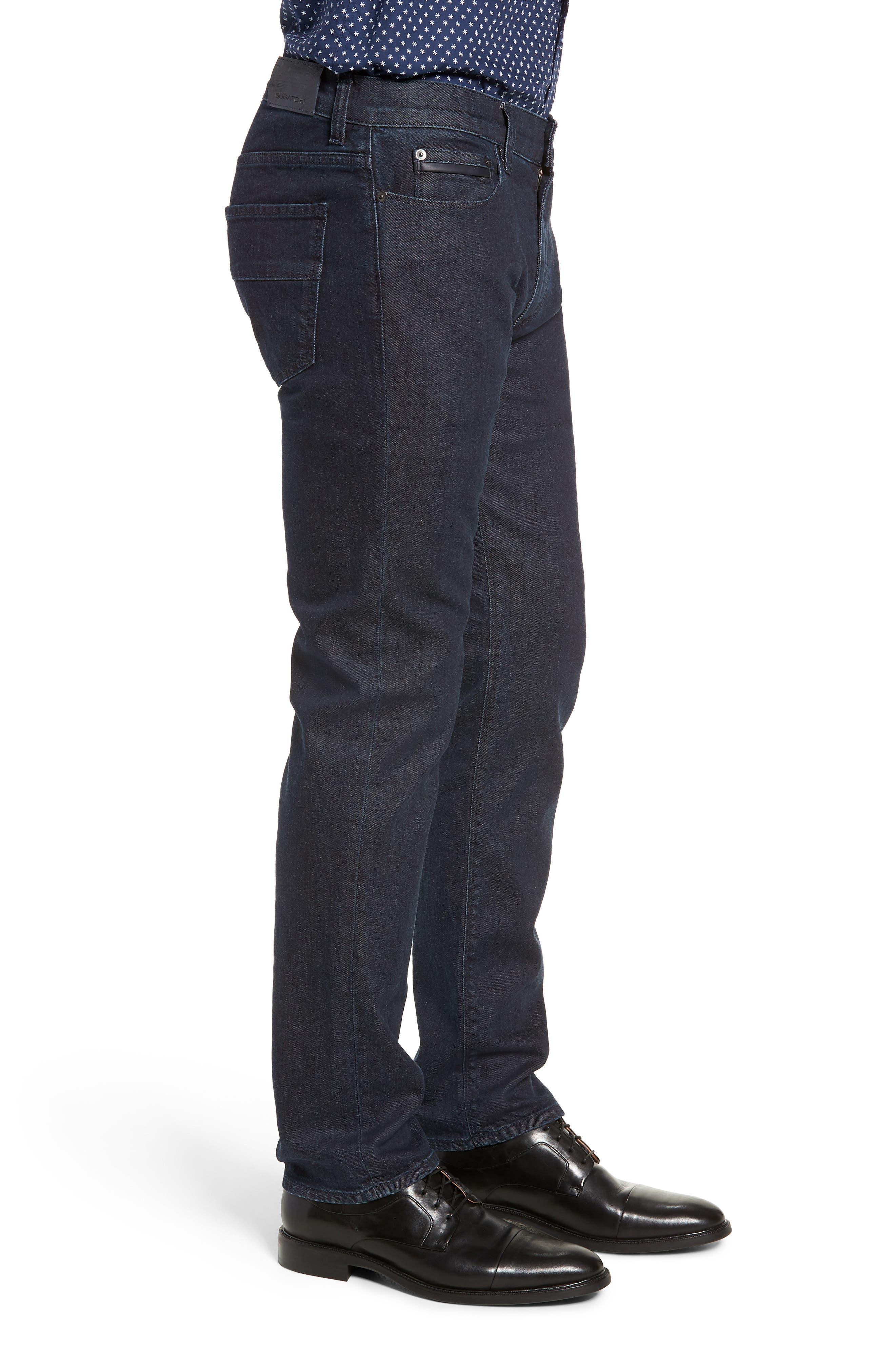 Slim Fit Jeans,                             Alternate thumbnail 3, color,                             SMOKE