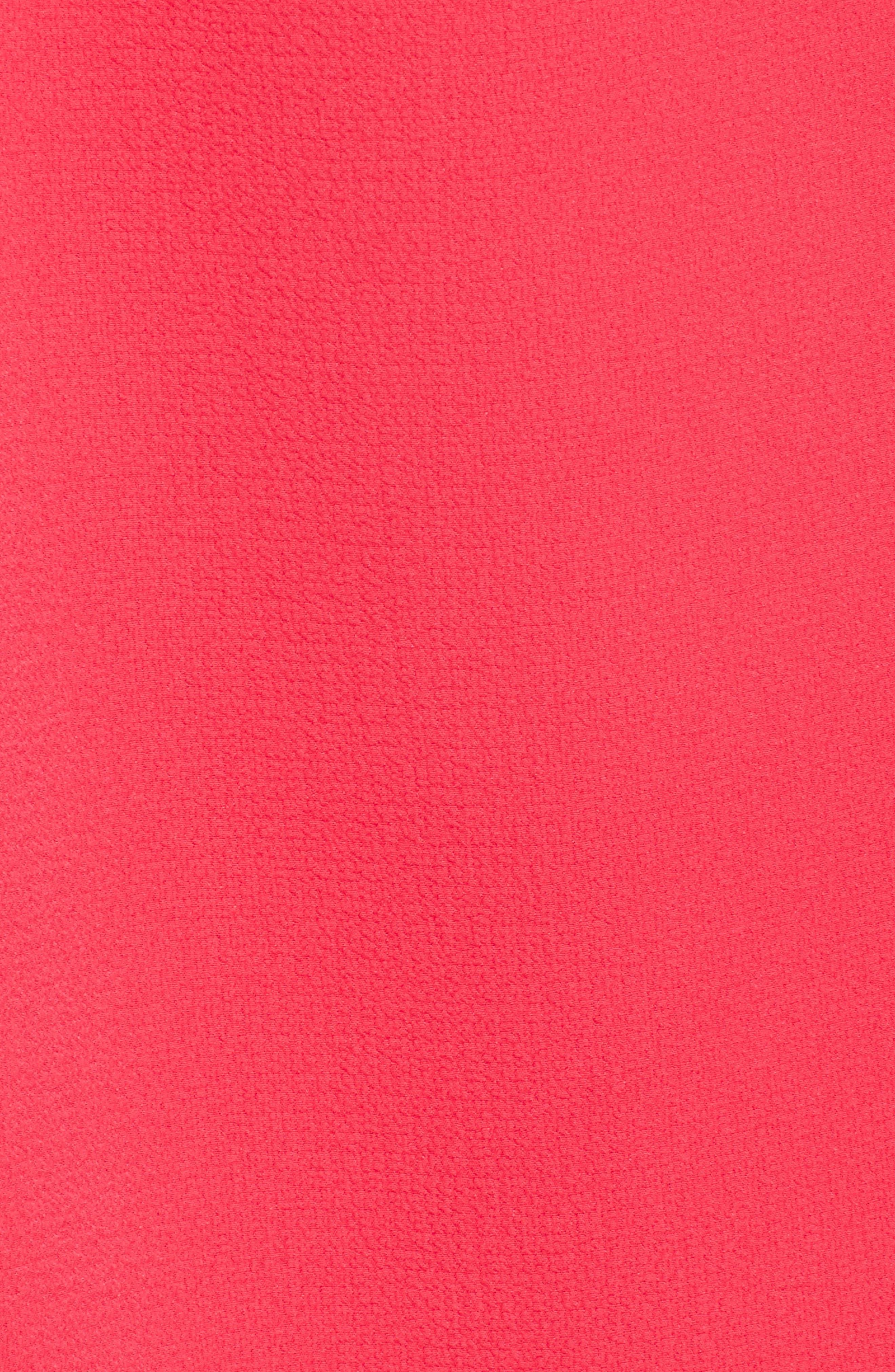 Zipper Back Ruffle Dress,                             Alternate thumbnail 16, color,