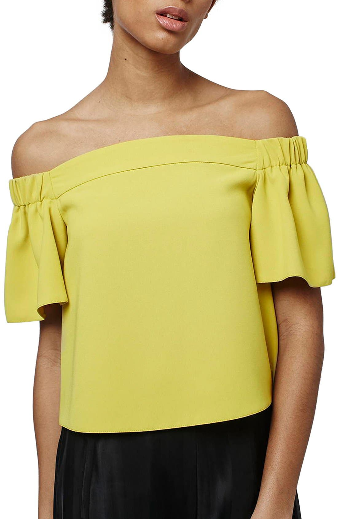 'Livi' Off the Shoulder Top,                             Main thumbnail 6, color,