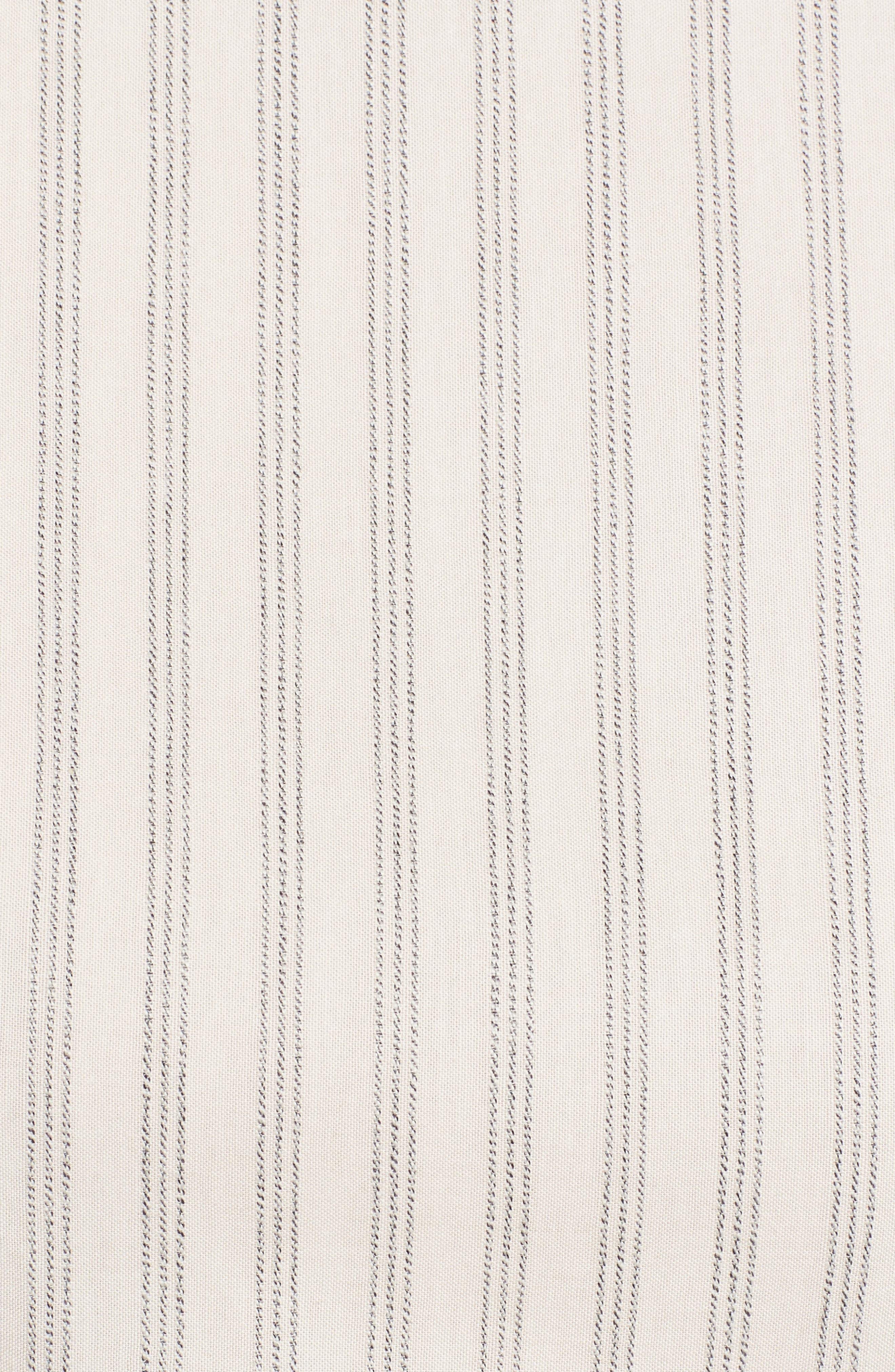 Stripe Midi Dress,                             Alternate thumbnail 5, color,                             158