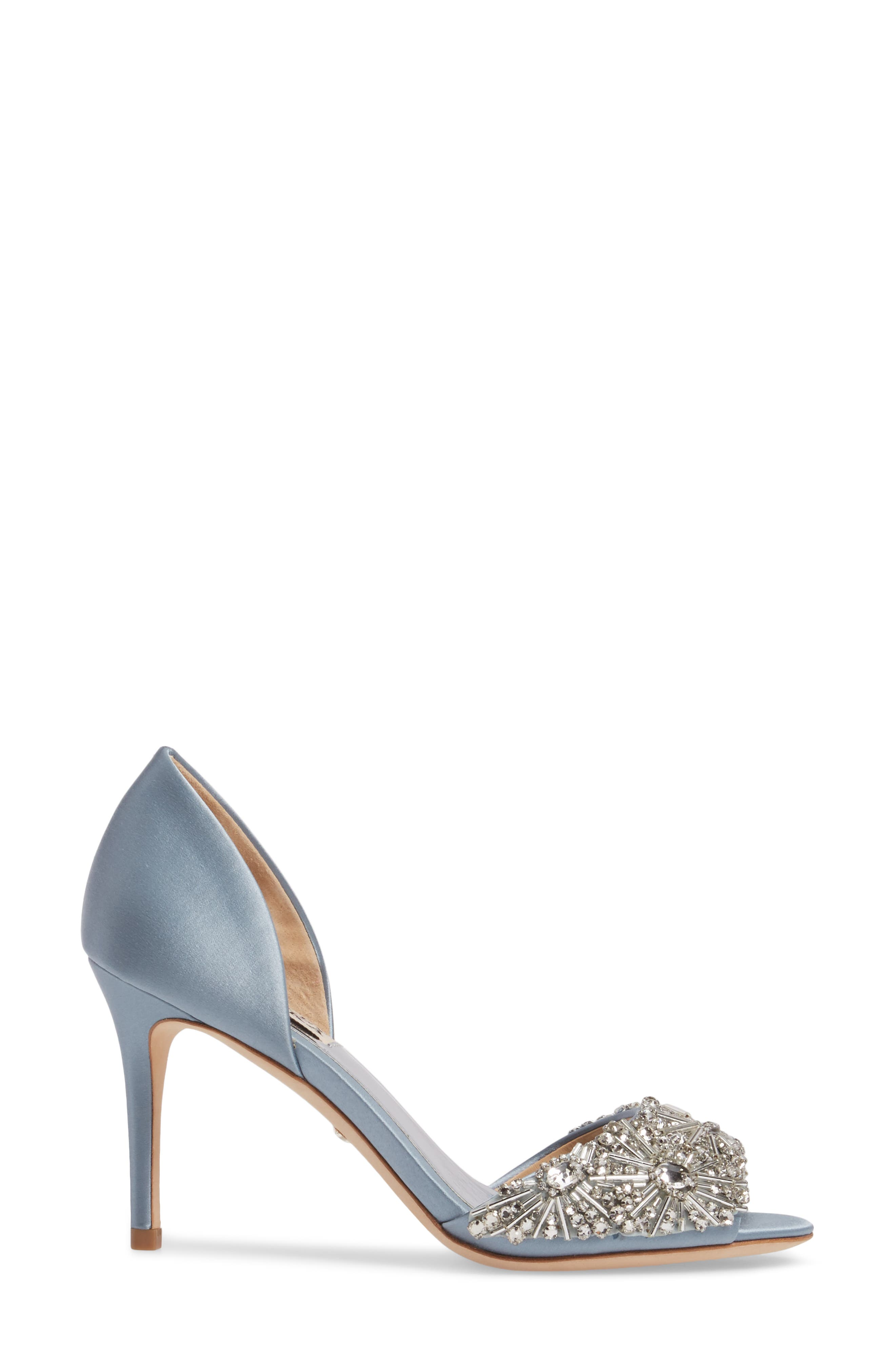 Maria Embellished d'Orsay Pump,                             Alternate thumbnail 16, color,