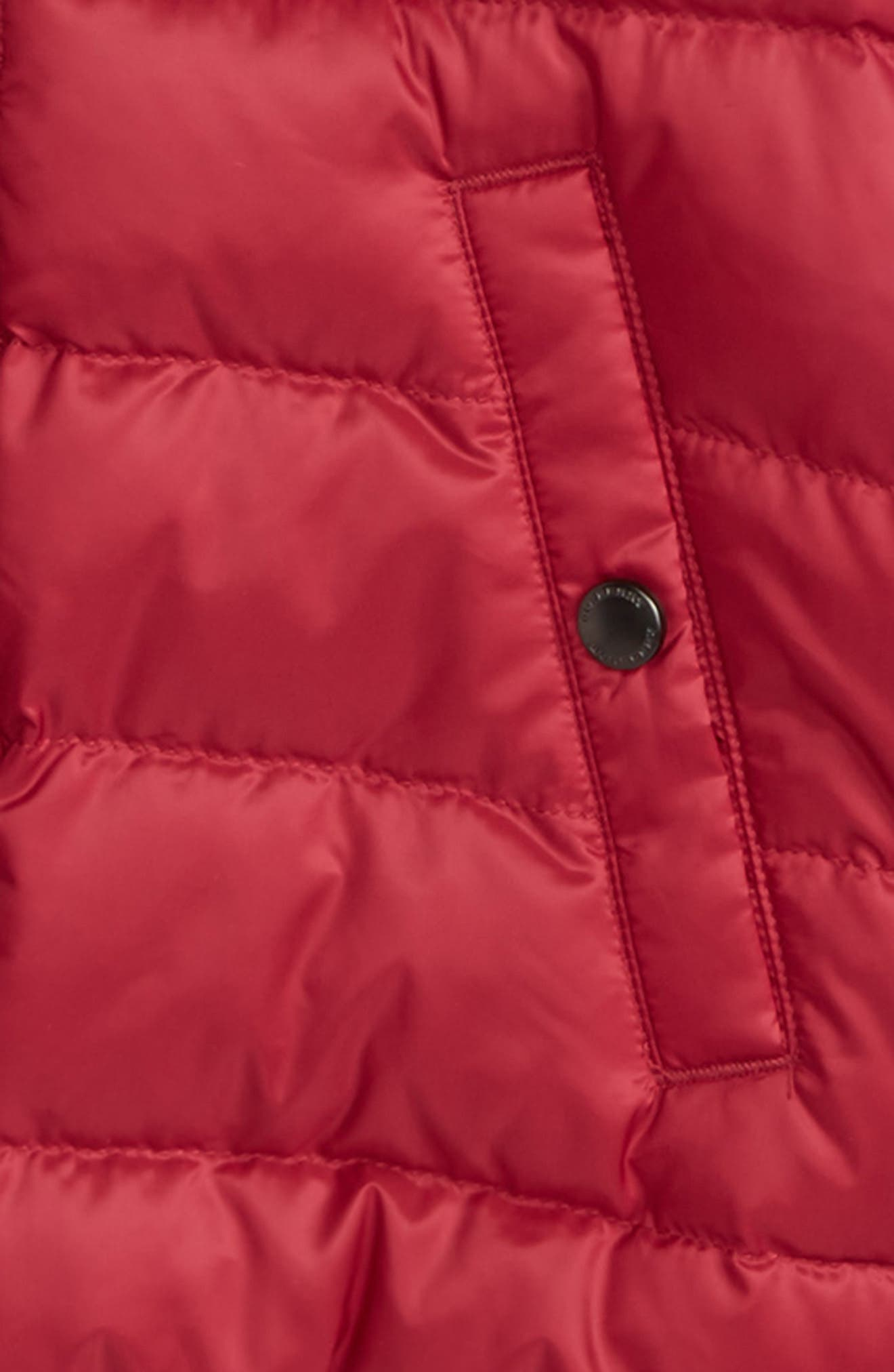 Mini Langleigh Reversible Down Jacket,                             Alternate thumbnail 4, color,                             655