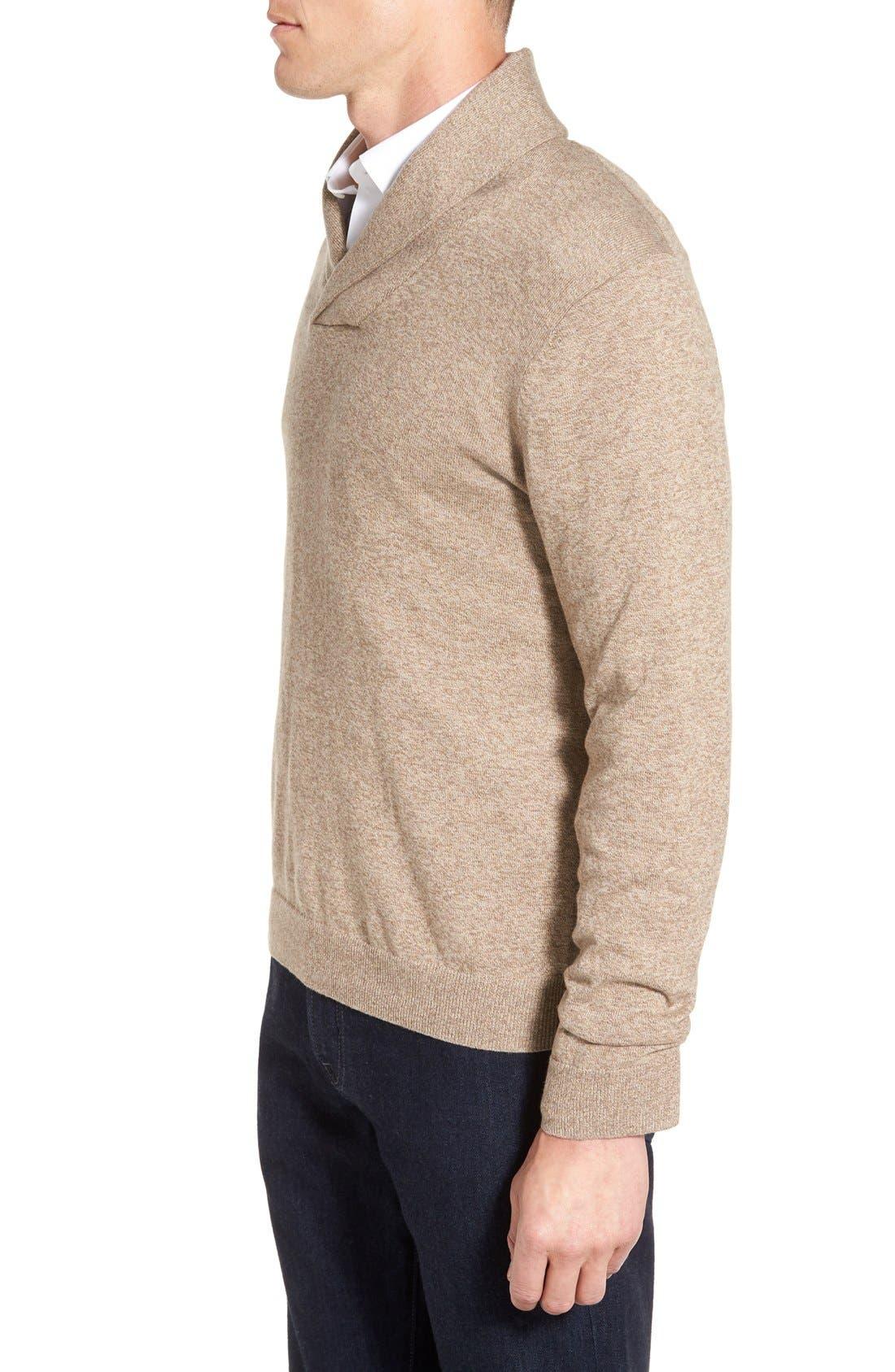 Men's Shop Shawl Collar Sweater,                             Alternate thumbnail 16, color,