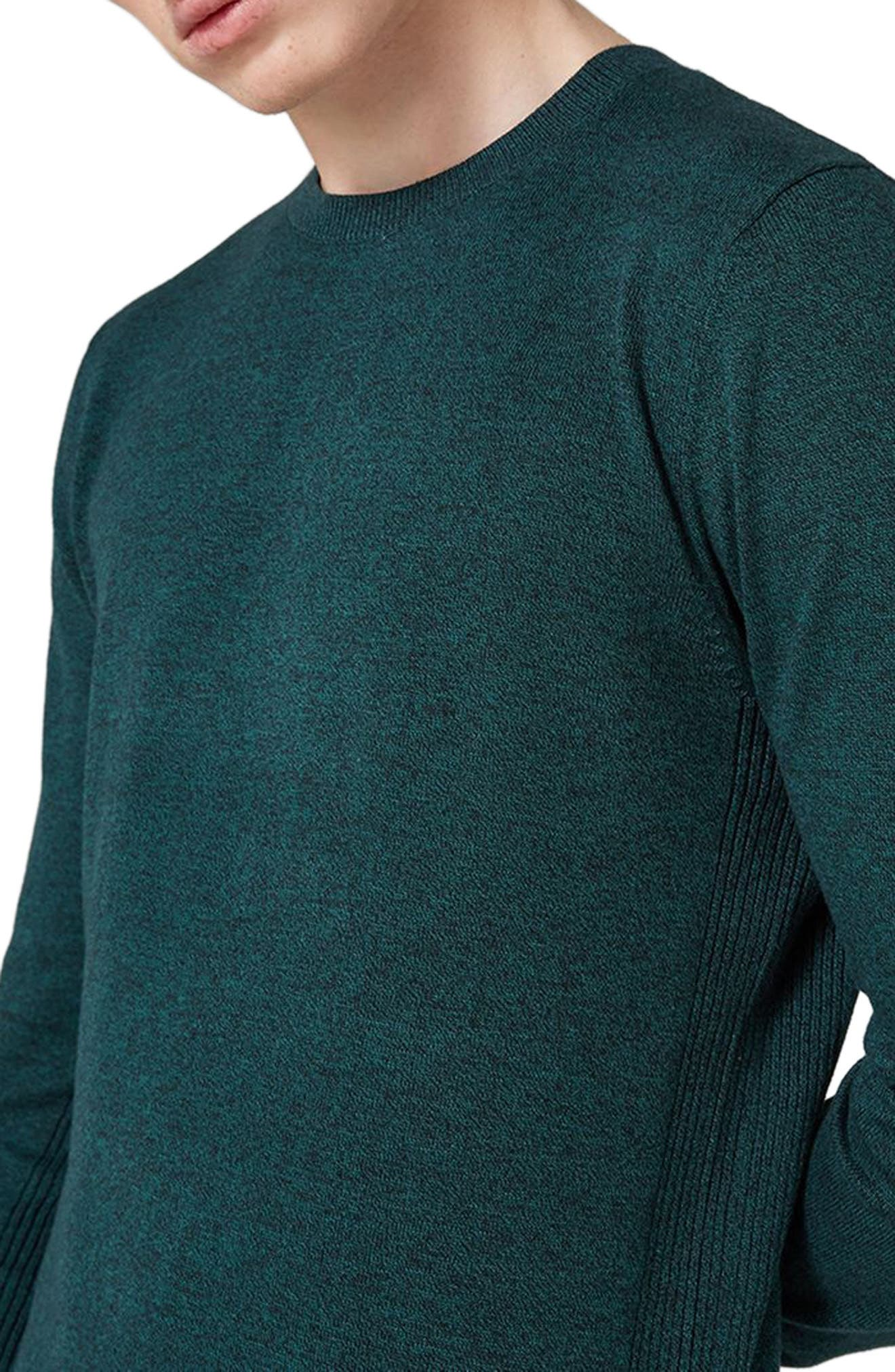 Side Ribbed Slim Fit Sweater,                             Alternate thumbnail 20, color,
