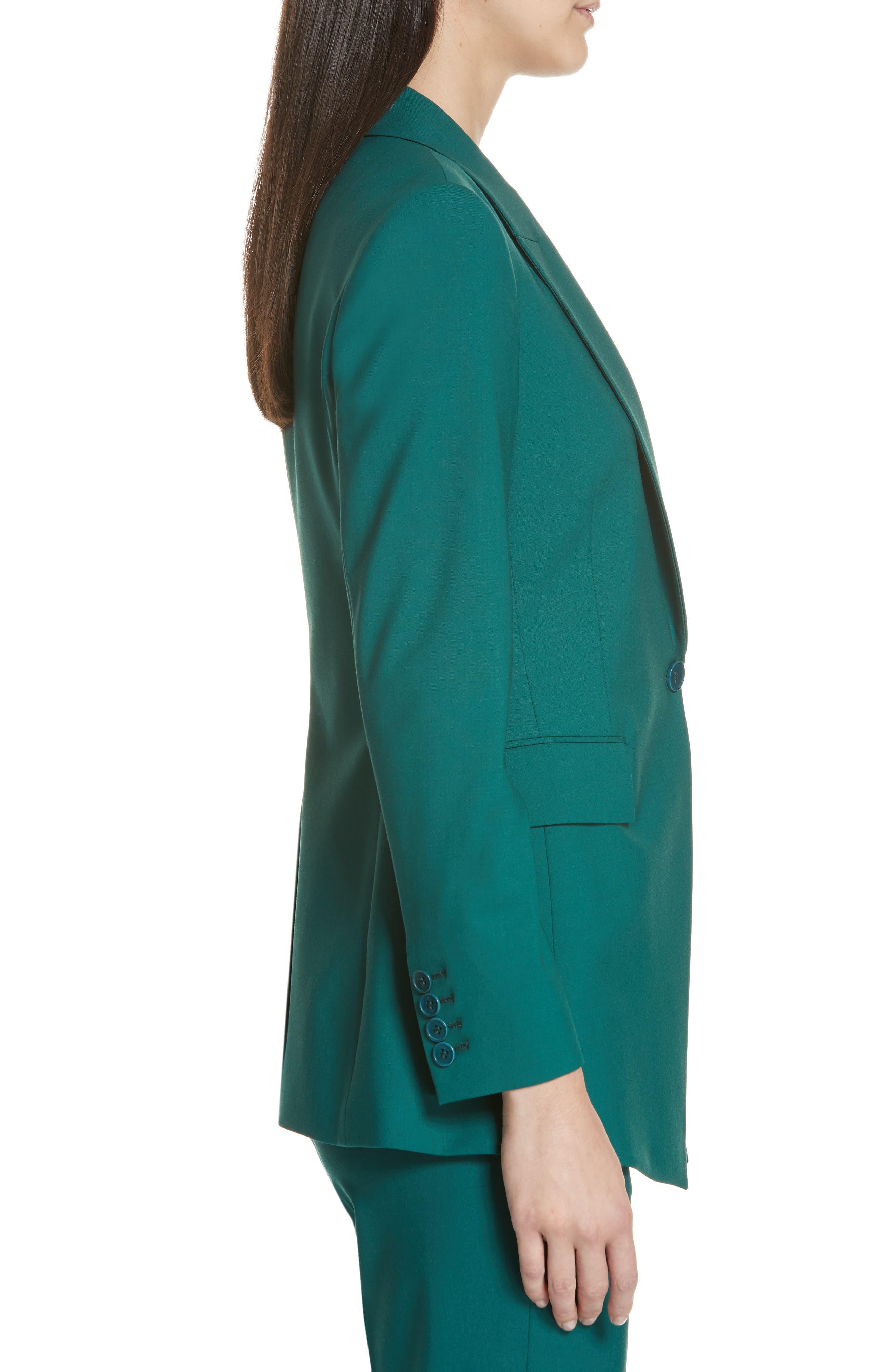 Etienette B Good Wool Suit Jacket,                             Alternate thumbnail 18, color,
