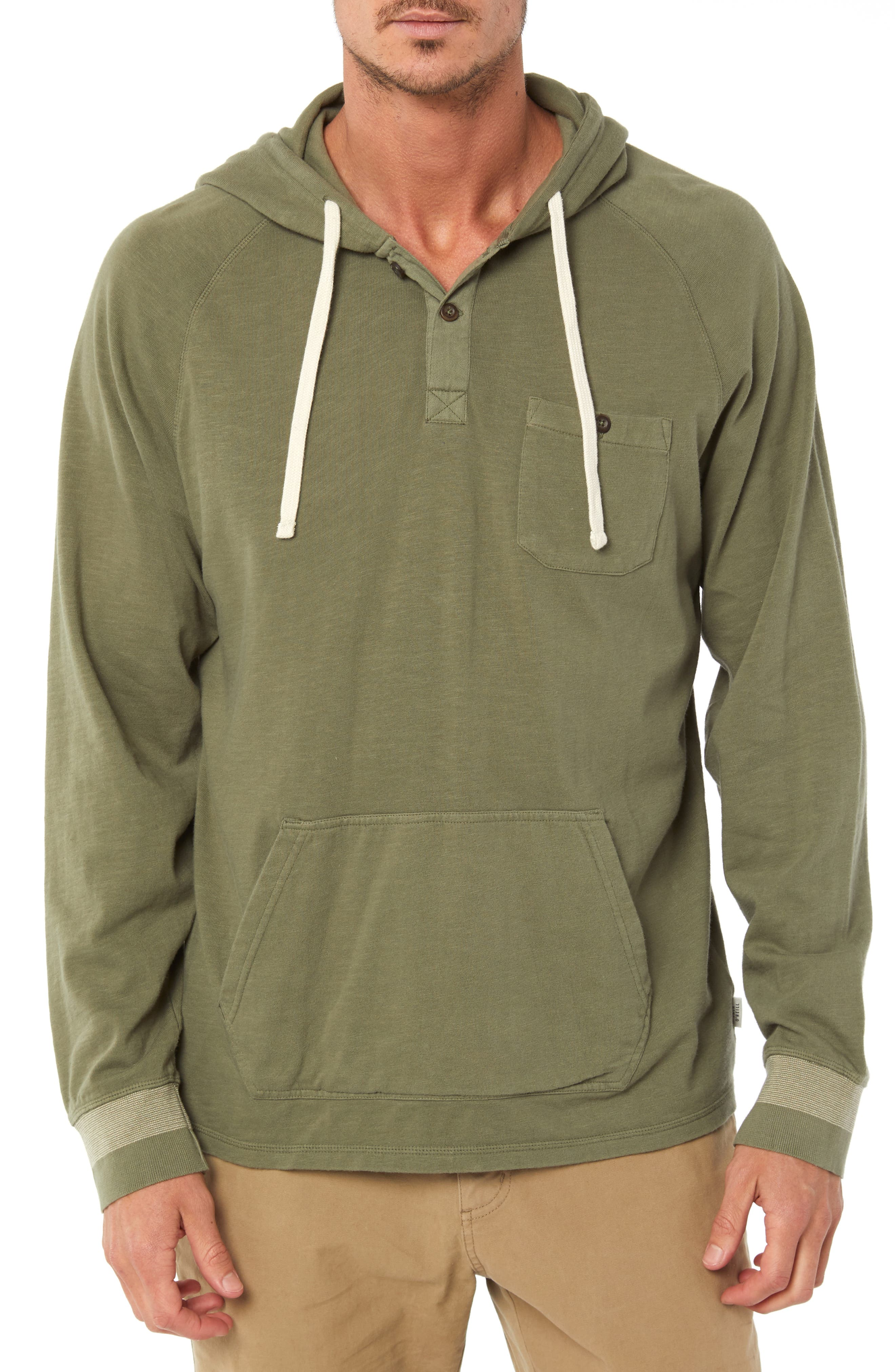 Undersail Hoodie,                             Main thumbnail 1, color,                             DUSTY OLIVE