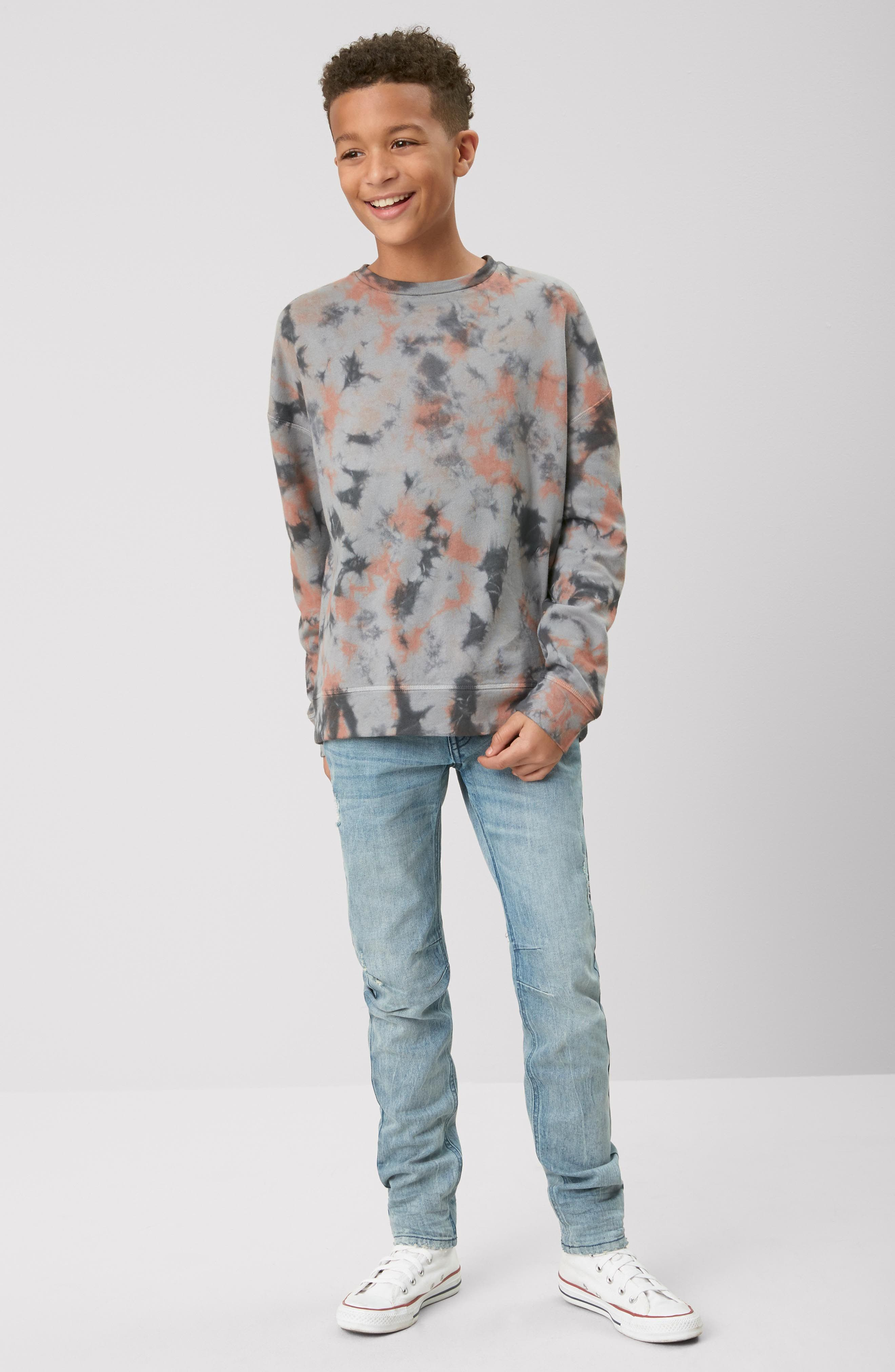 Classic Skinny Jeans,                             Alternate thumbnail 5, color,                             FROST WASH