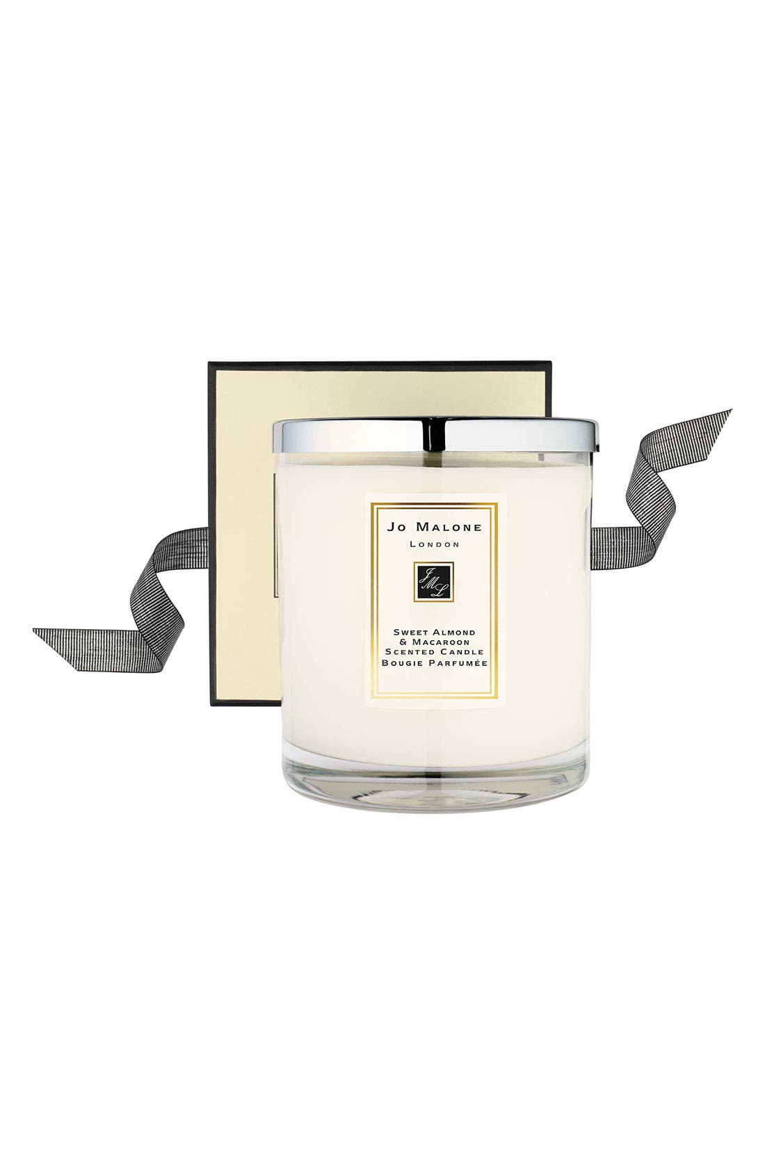 Jo Malone<sup>™</sup> 'Sweet Almond & Macaroon' Deluxe Candle,                             Alternate thumbnail 2, color,                             000