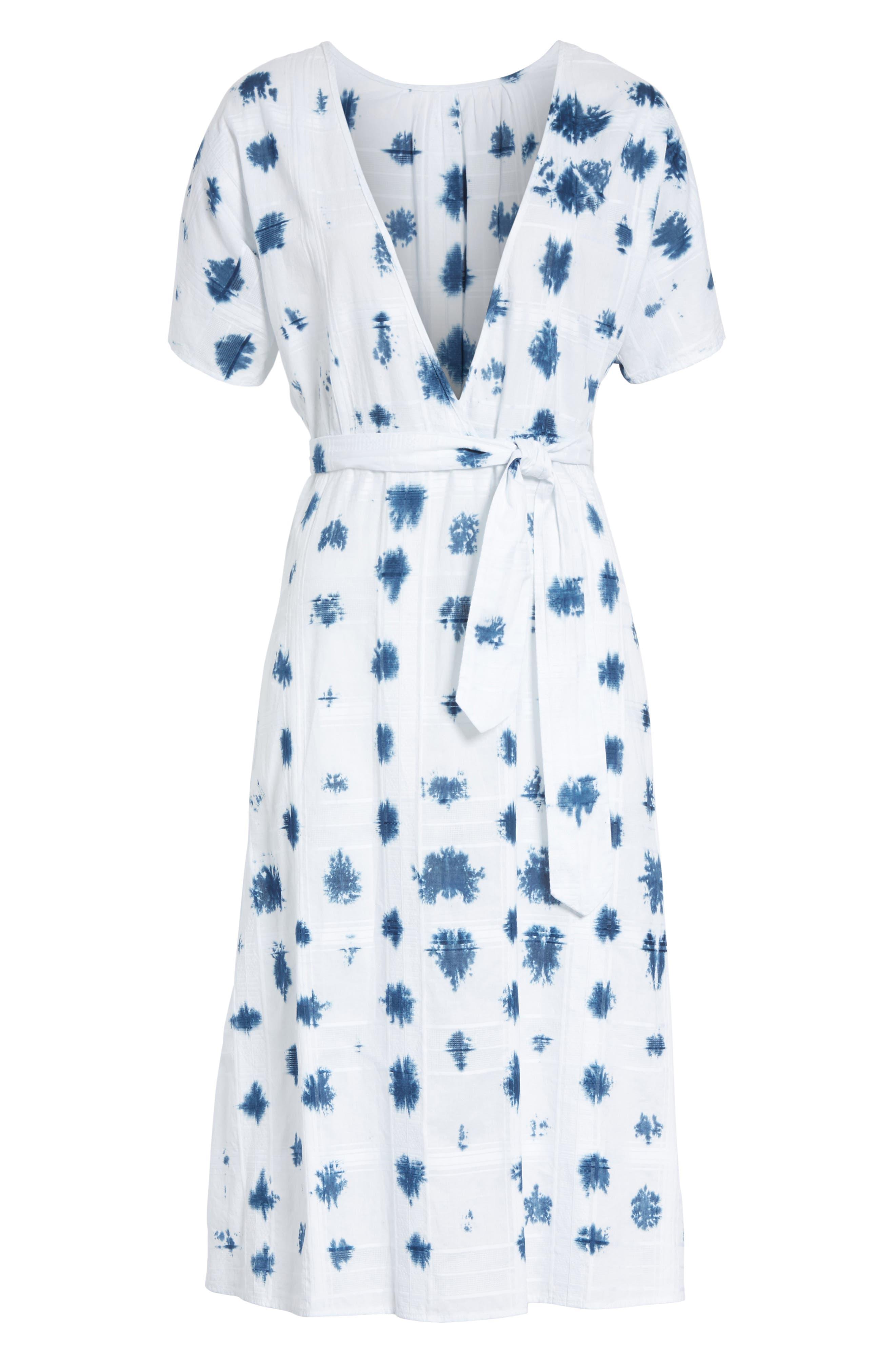 Weekend Tie Dye Dress,                             Alternate thumbnail 6, color,                             122