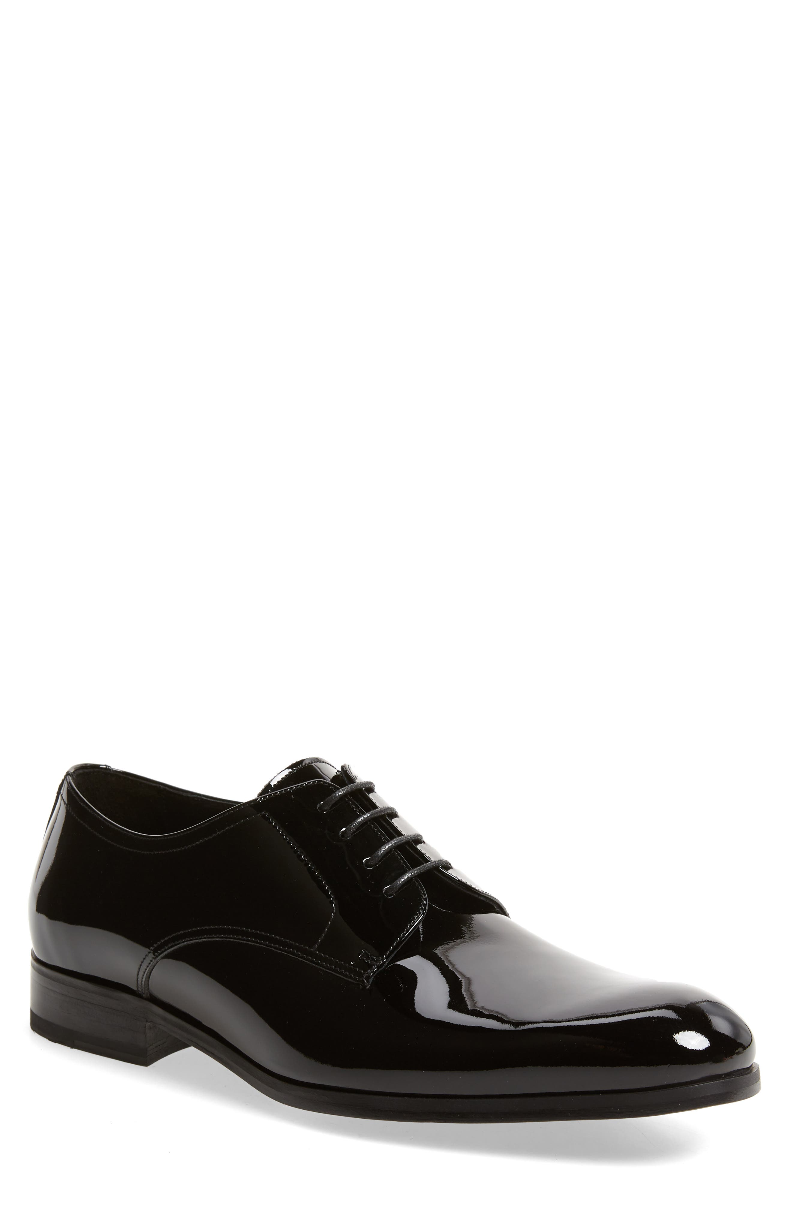 To Boot New York Aalborg Plain Toe Derby, Black