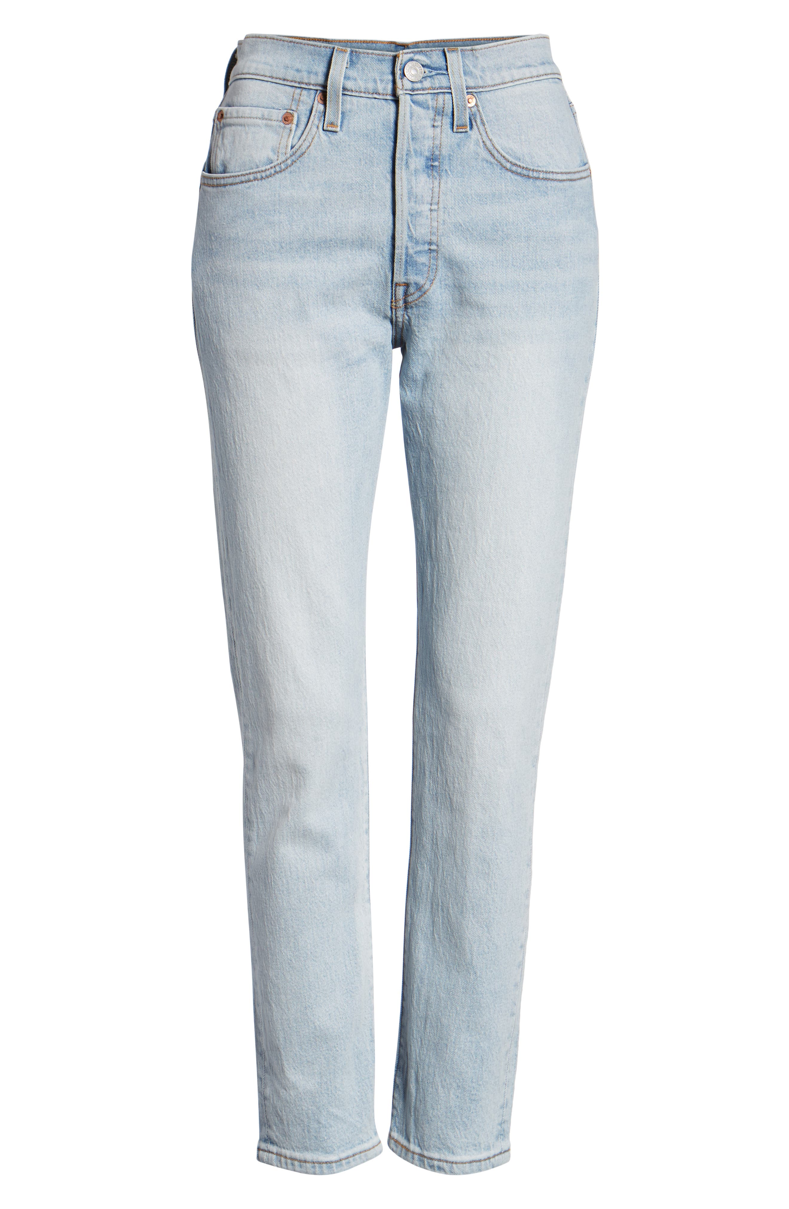501<sup>®</sup> Ankle Slim Jeans,                             Alternate thumbnail 7, color,                             450