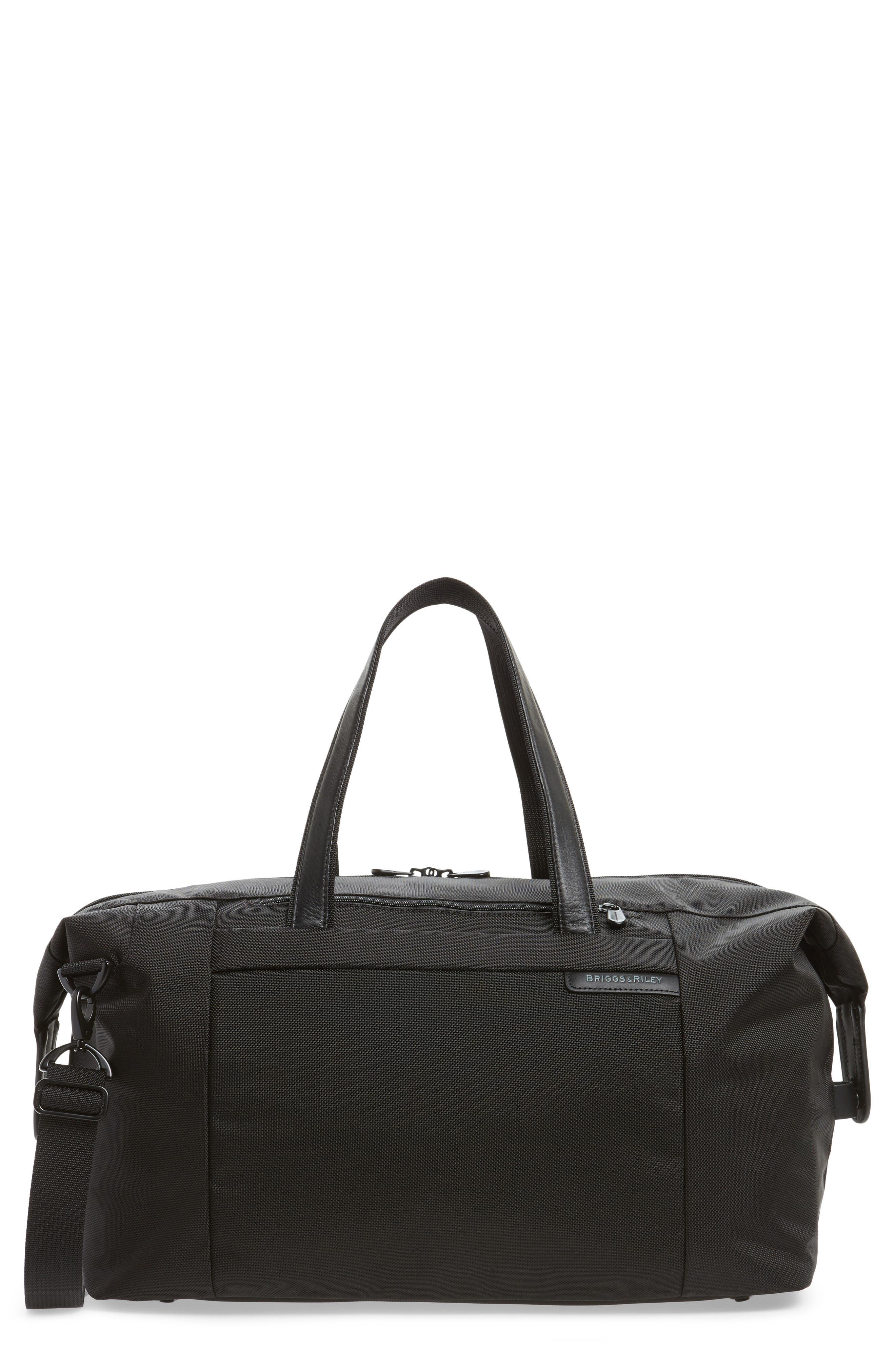 BRIGGS & RILEY 'Baseline' Duffel Bag, Main, color, BLACK