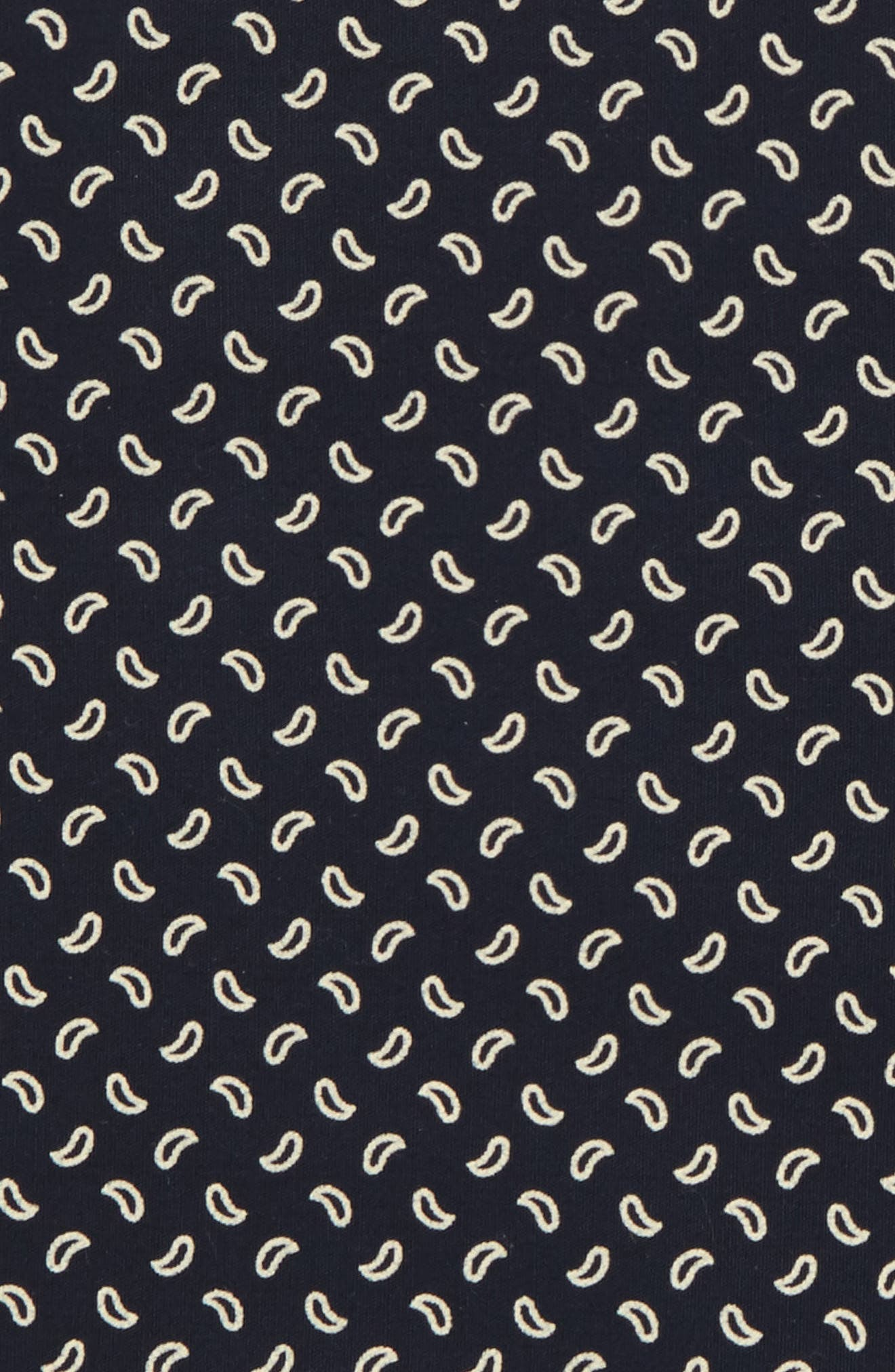 Mr. Paisley Cotton Pocket Square,                             Alternate thumbnail 3, color,                             400