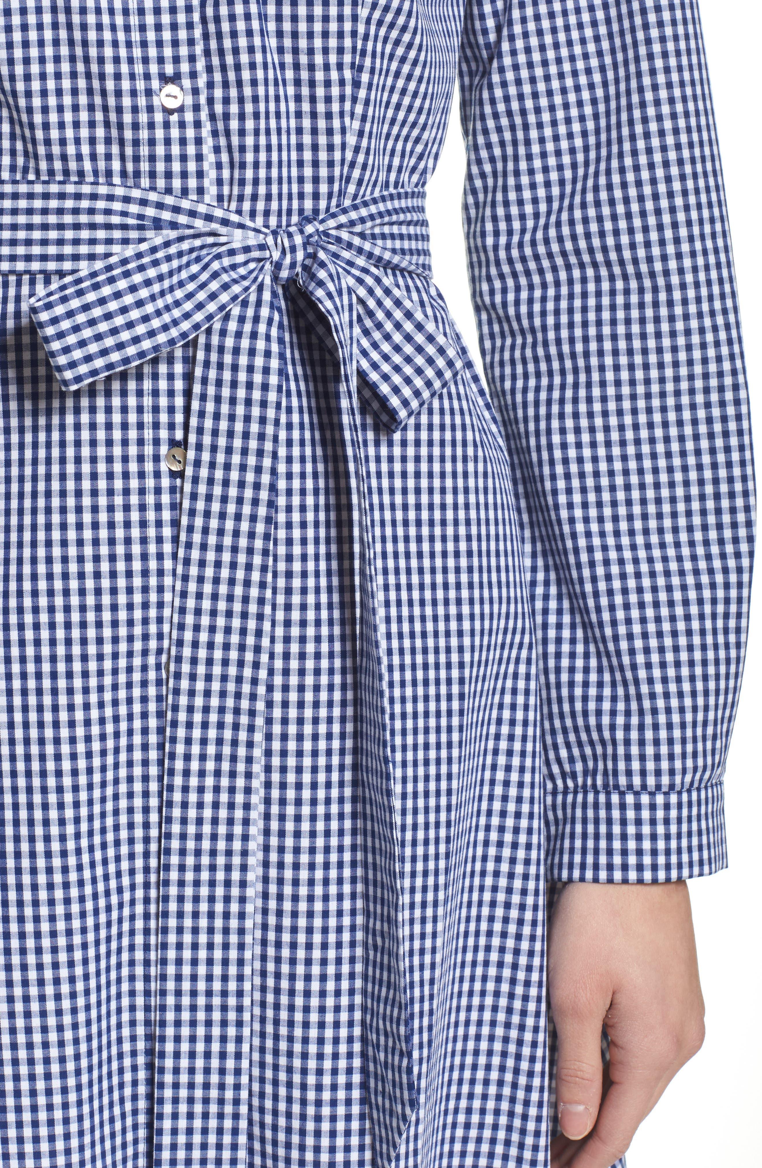 Ayla Midi Shirtdress,                             Alternate thumbnail 4, color,                             413