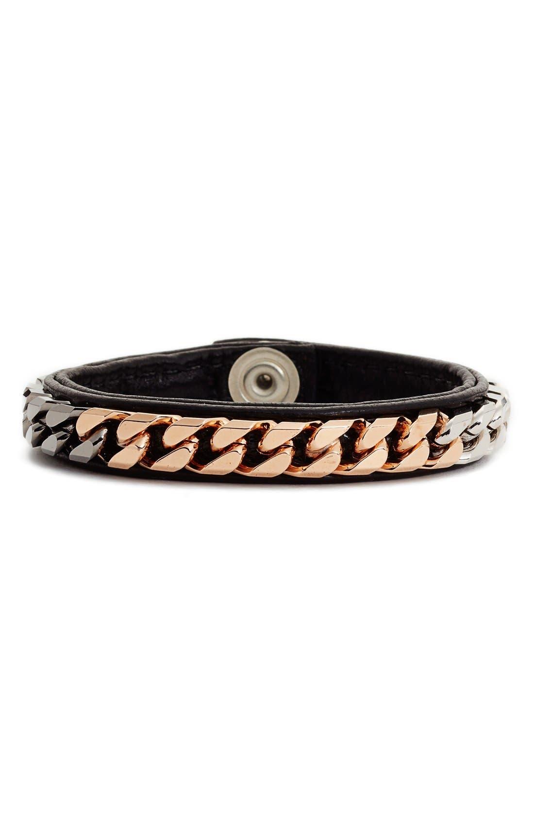Monaco Wrap Bracelet,                         Main,                         color, 001