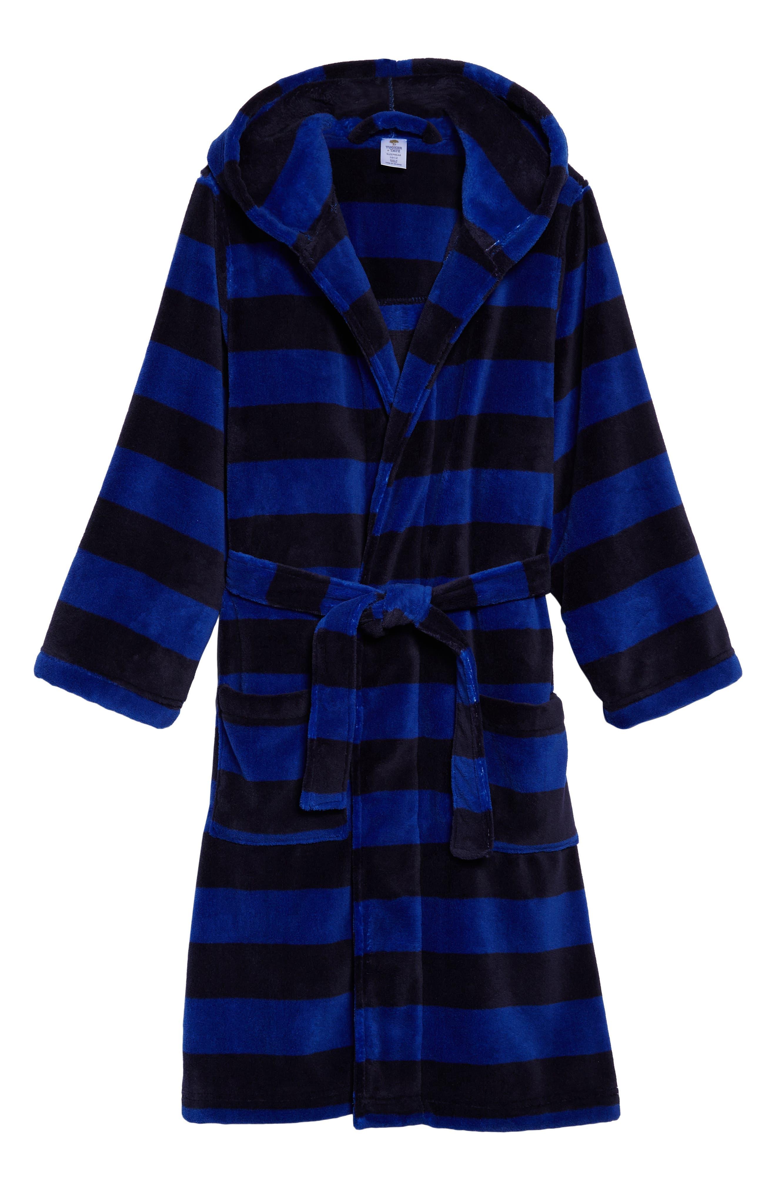 Hooded Plush Robe,                             Main thumbnail 3, color,