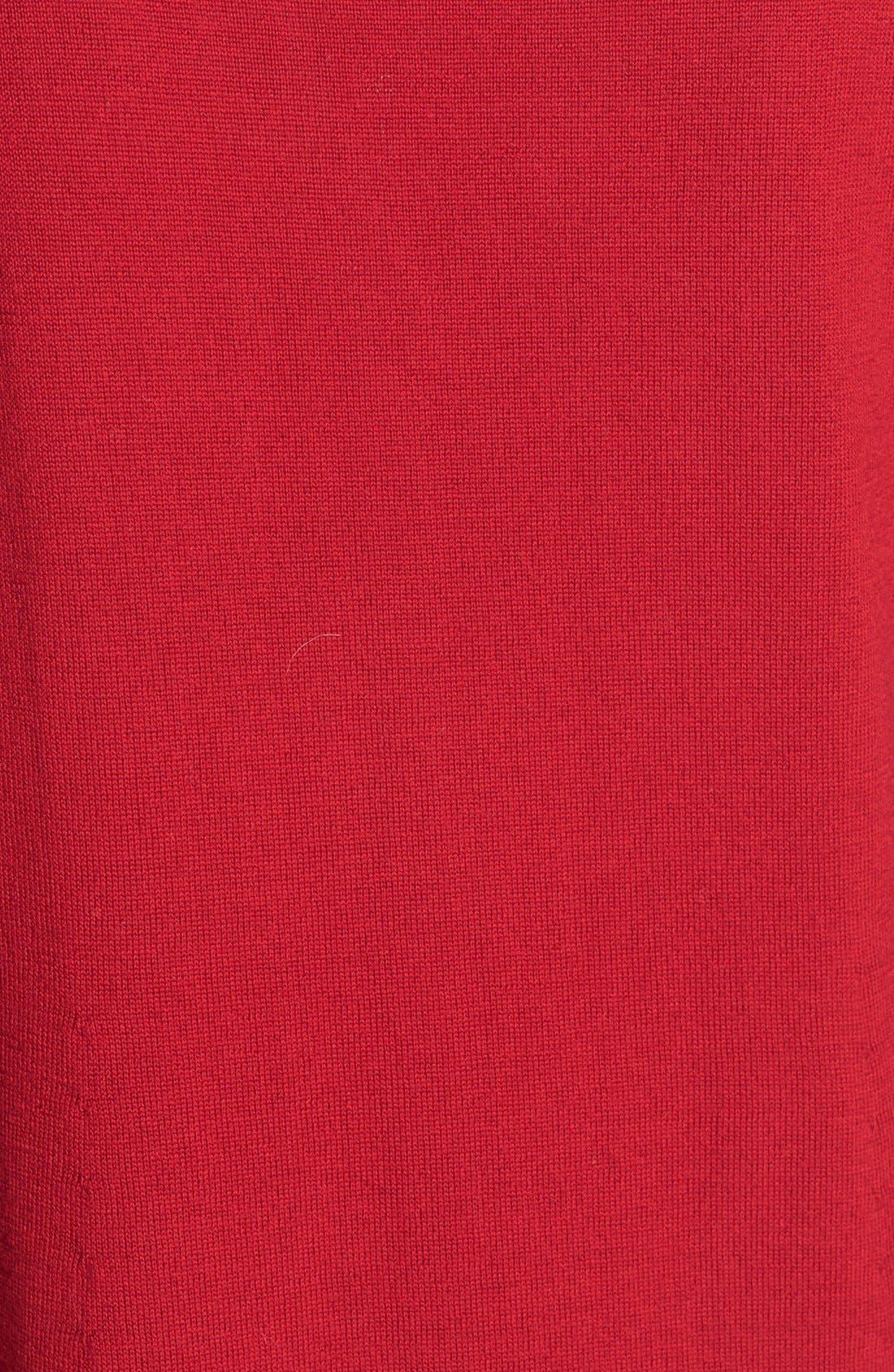 Lightweight Merino Jersey V-Neck Tunic,                             Alternate thumbnail 69, color,